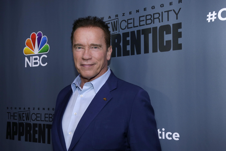 Arnold Schwarzenegger, host of 'The New Celebrity Apprentice' on NBC.