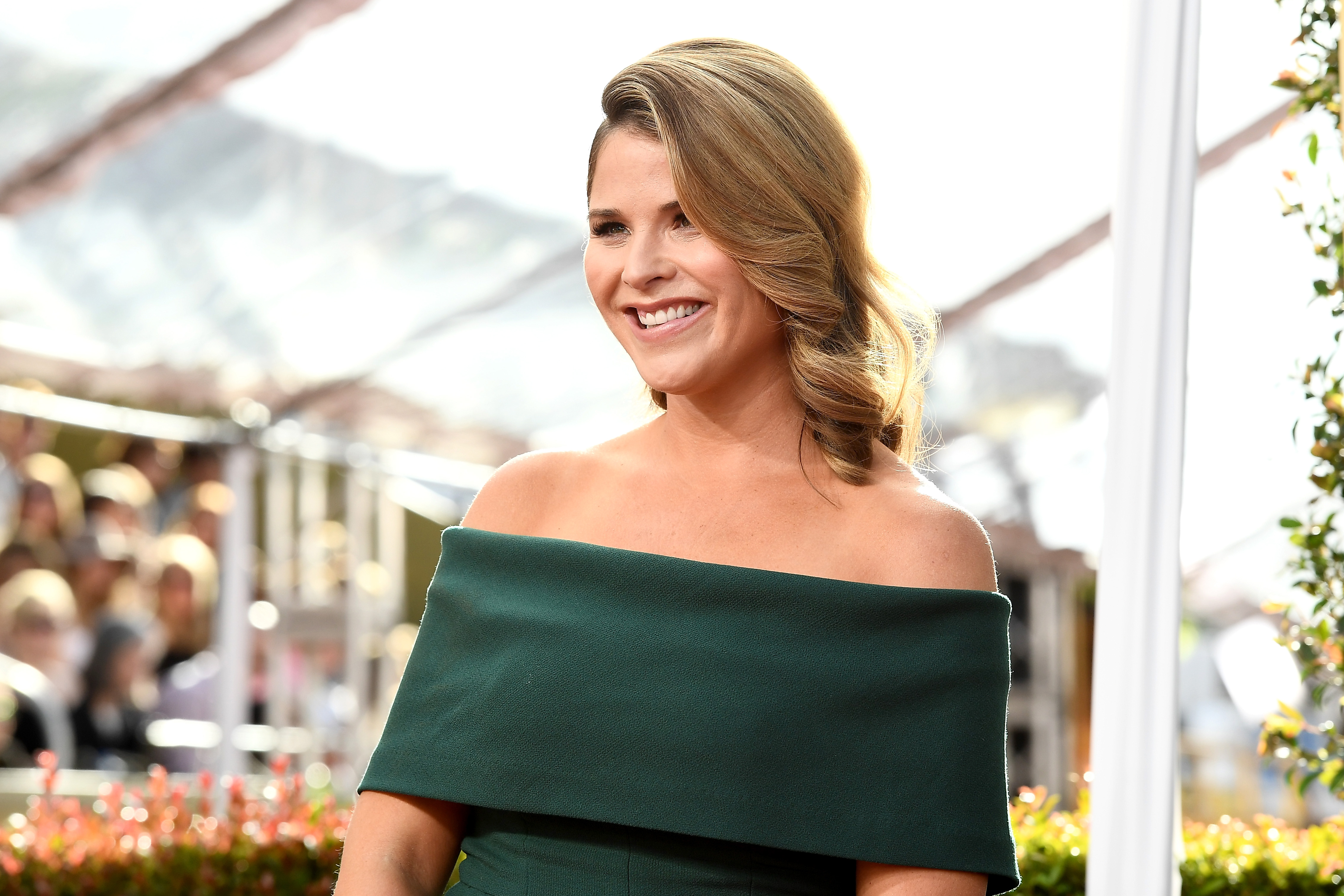 Journalist Jenna Bush Hager arrive to the 74th Annual Golden Globe Awards held at the Beverly Hilton Hotel on Jan. 8, 2017.