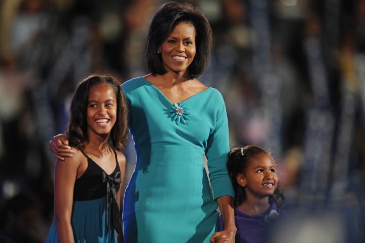 Michelle Obama, wife of Democratic Presi