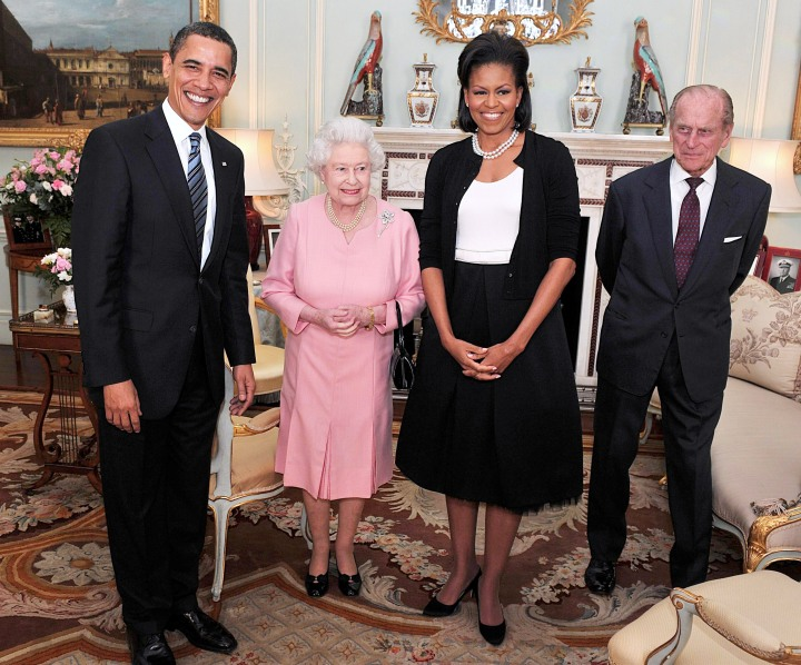 President Obama And The First Lady Meet The Queen