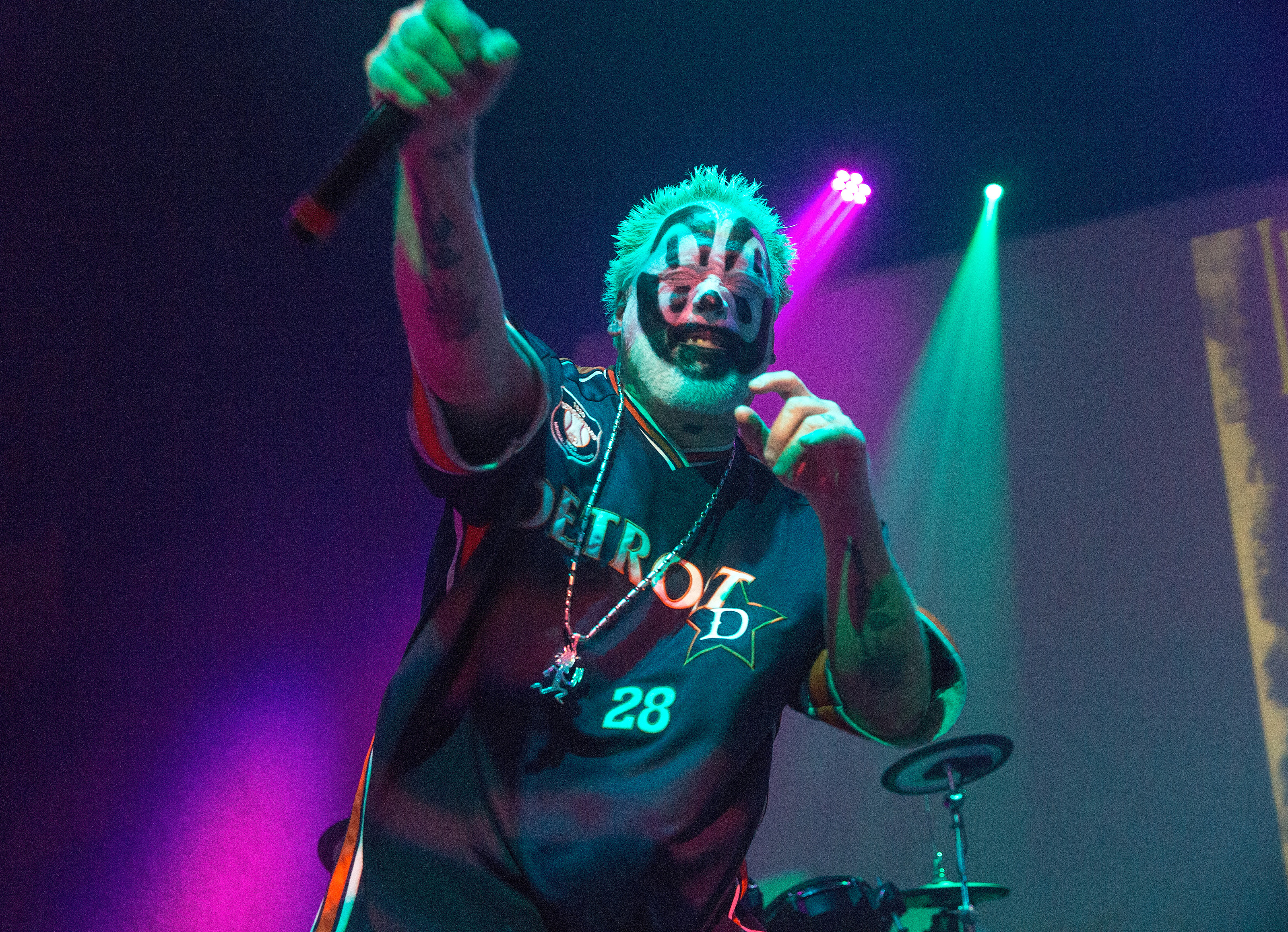 Violent J of Insane Clown Posse performs on June 16, 2016 in Indianapolis, Indiana.