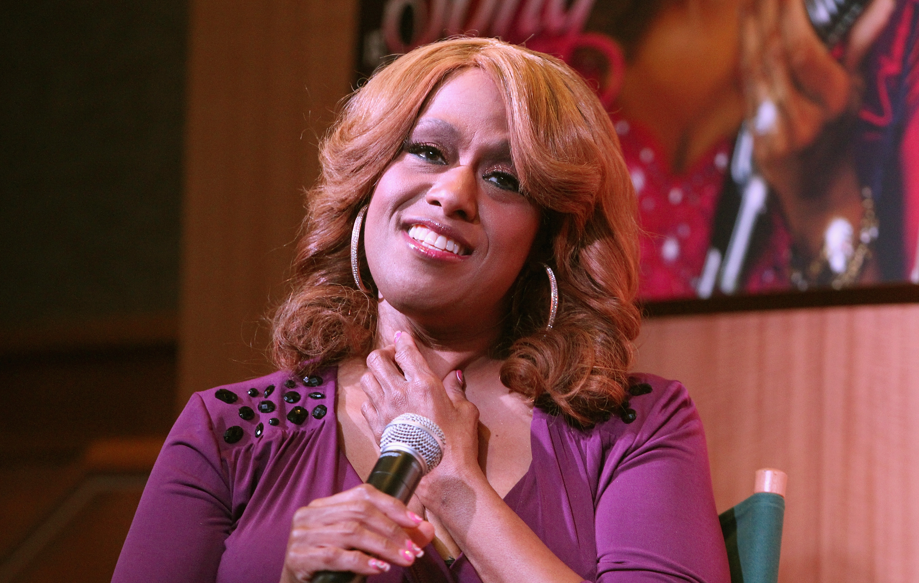 Jennifer Holliday performs in New York City, on Jan. 24, 2014.