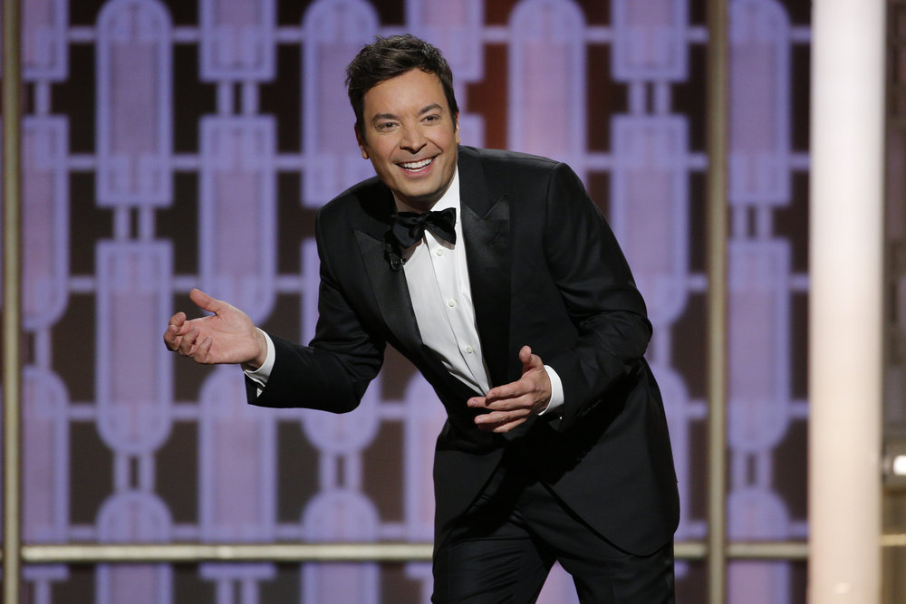 Jimmy Fallon at the 74th Annual Golden Globe Awards at the Beverly Hilton Hotel, on Jan. 8, 2017 in Beverly Hills, Calif.