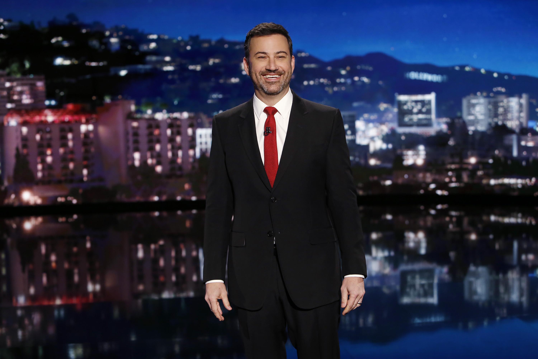Jimmy Kimmel on Jan. 2, 2017.