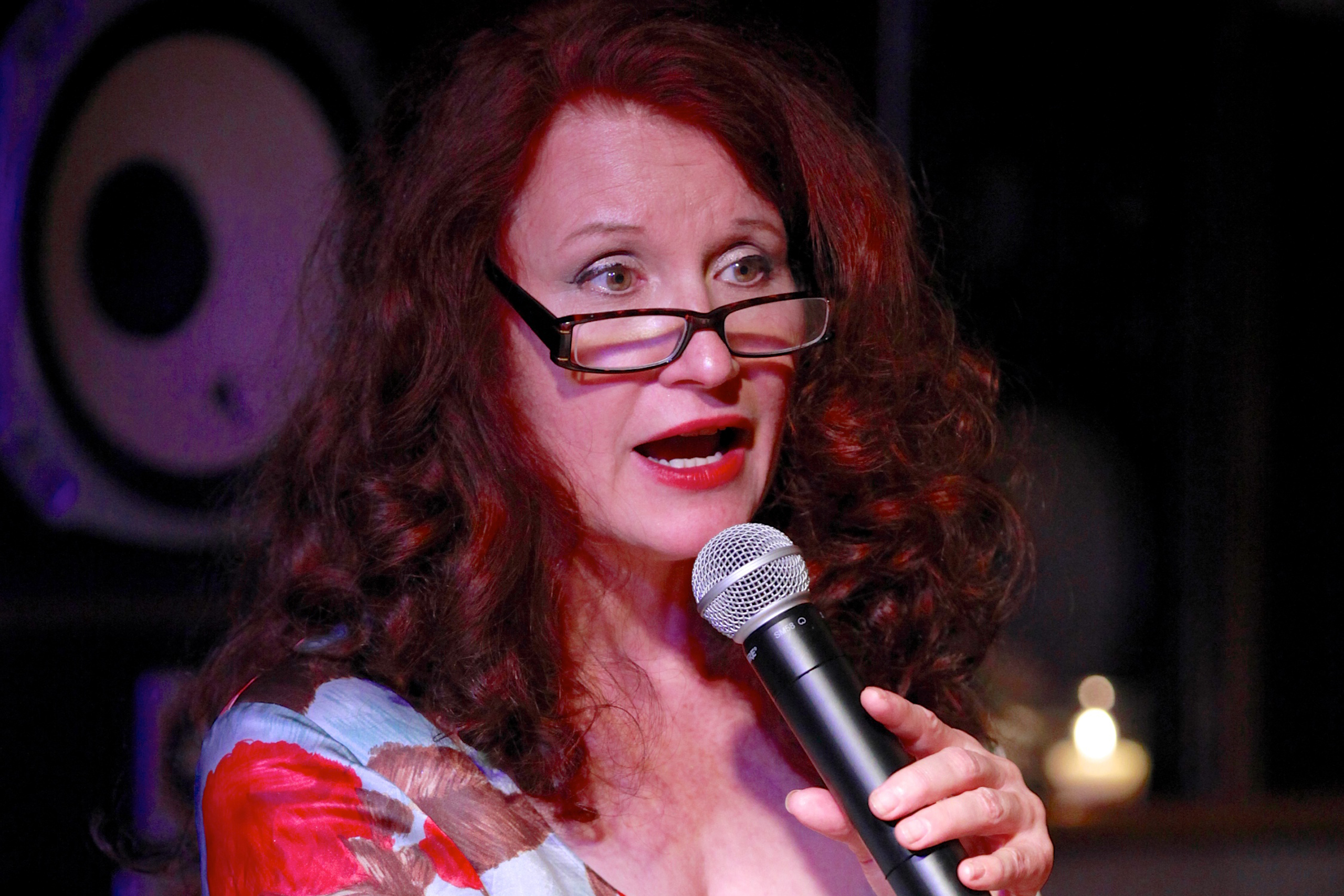 Finley reads at the Free Pussy Riot Public Reading on August 16, 2012 in New York City.