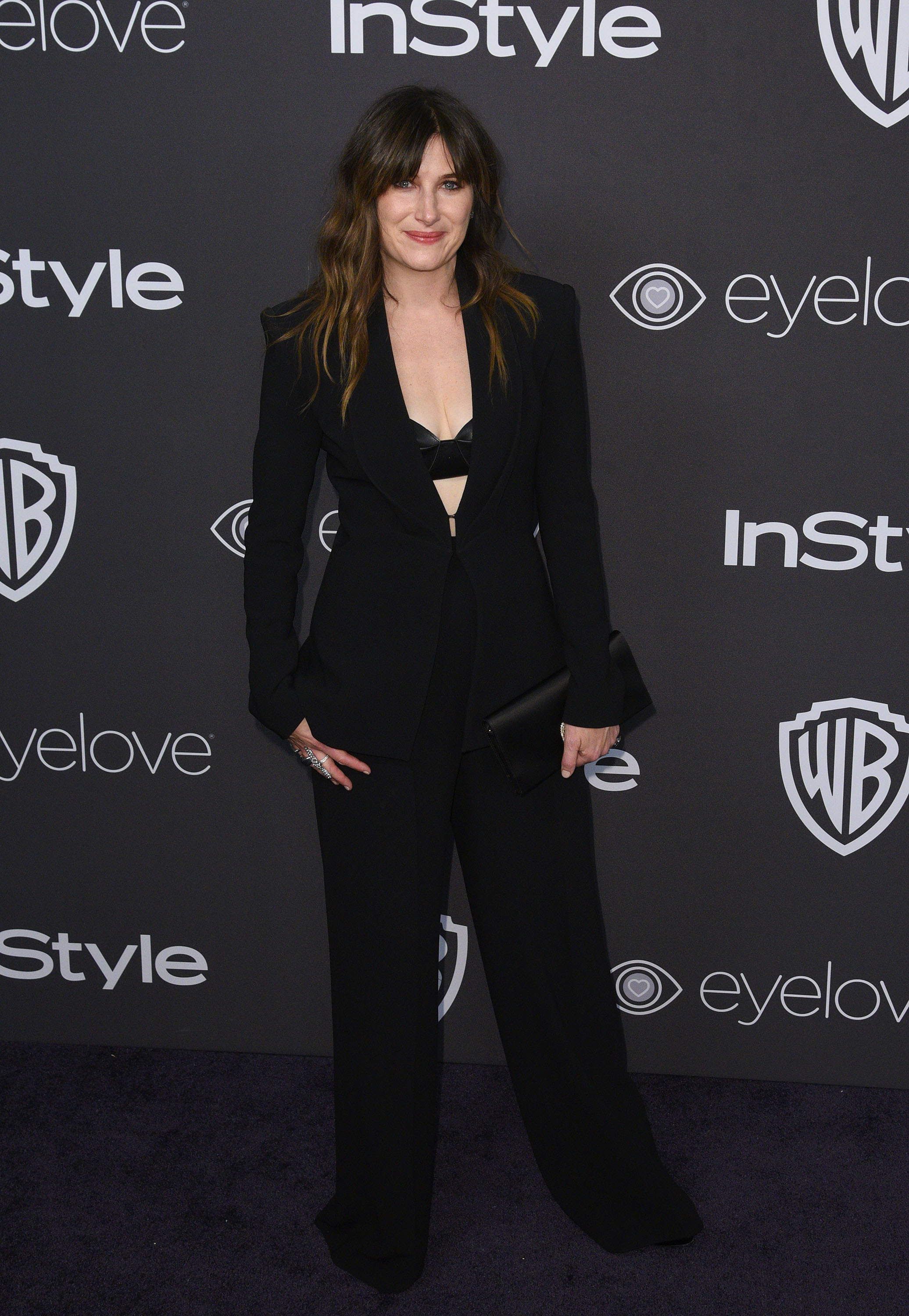 BEVERLY HILLS, CA - JANUARY 08: Actress Kathryn Hahn attends the 18th Annual Post-Golden Globes Party hosted by Warner Bros. Pictures and InStyle at The Beverly Hilton Hotel on January 8, 2017 in Beverly Hills, California. (Photo by C Flanigan/Getty Images)