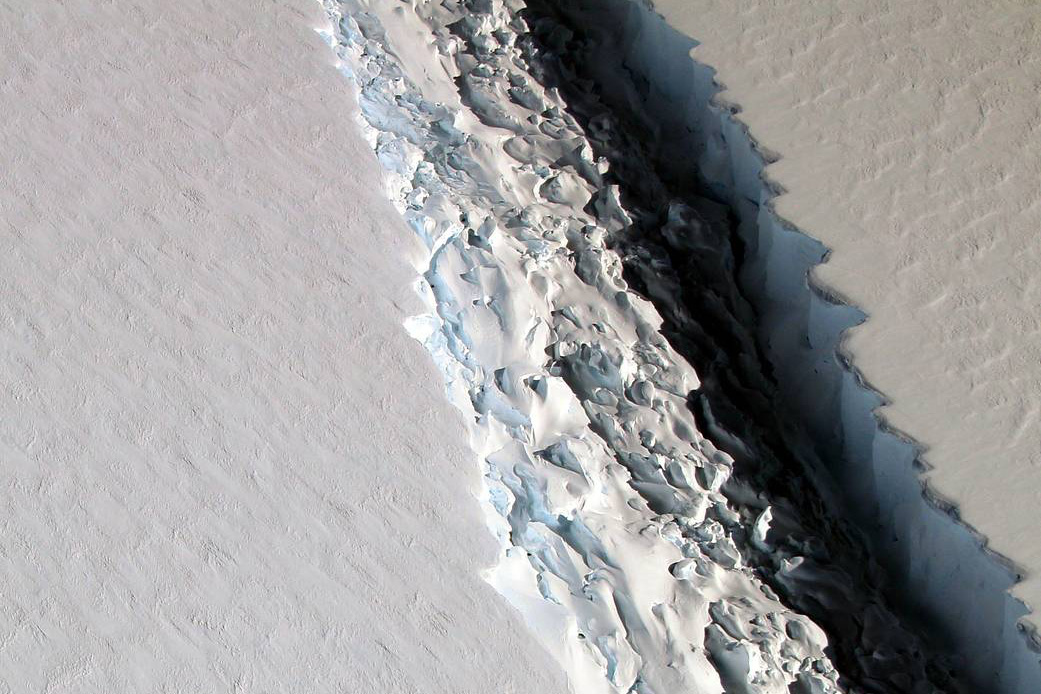 The ice shelf, known as Larsen C, will lose more than 10% of its area when the iceberg breaks off