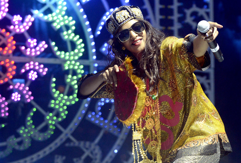 Maya Arulpragasam aka M.I.A performs as part of the Fun Fun Fun Festival at Auditorium Shores on November 9, 2013 in Austin, Texas.
