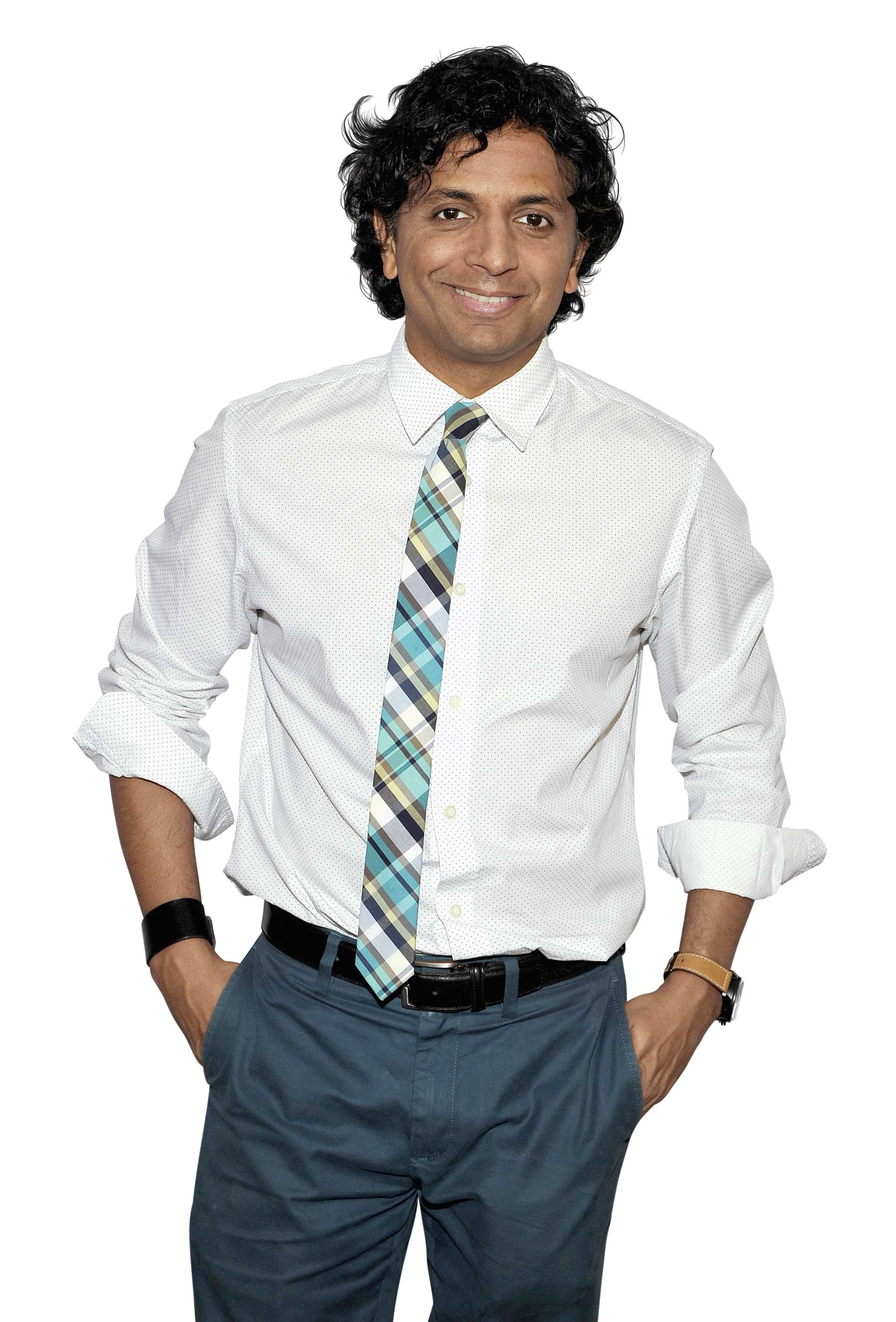 Director M. Night Shyamalan attends WIRED Cafe at Comic Con 2015 in San Diego at Omni Hotel on July 9, 2015 in San Diego, California.