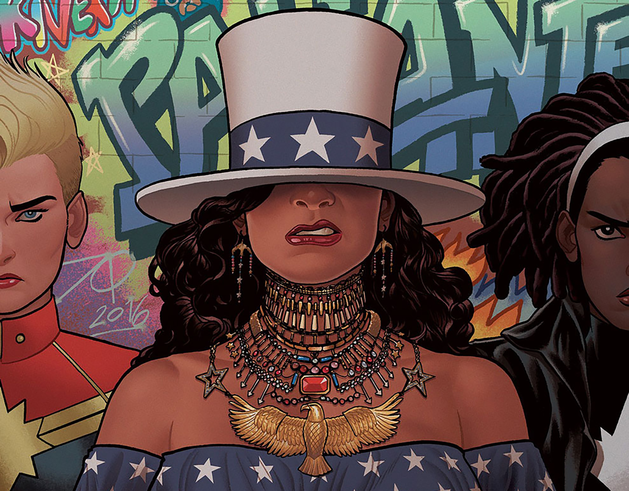 This Marvel Comic Book Cover Was Inspired By Beyonce Time