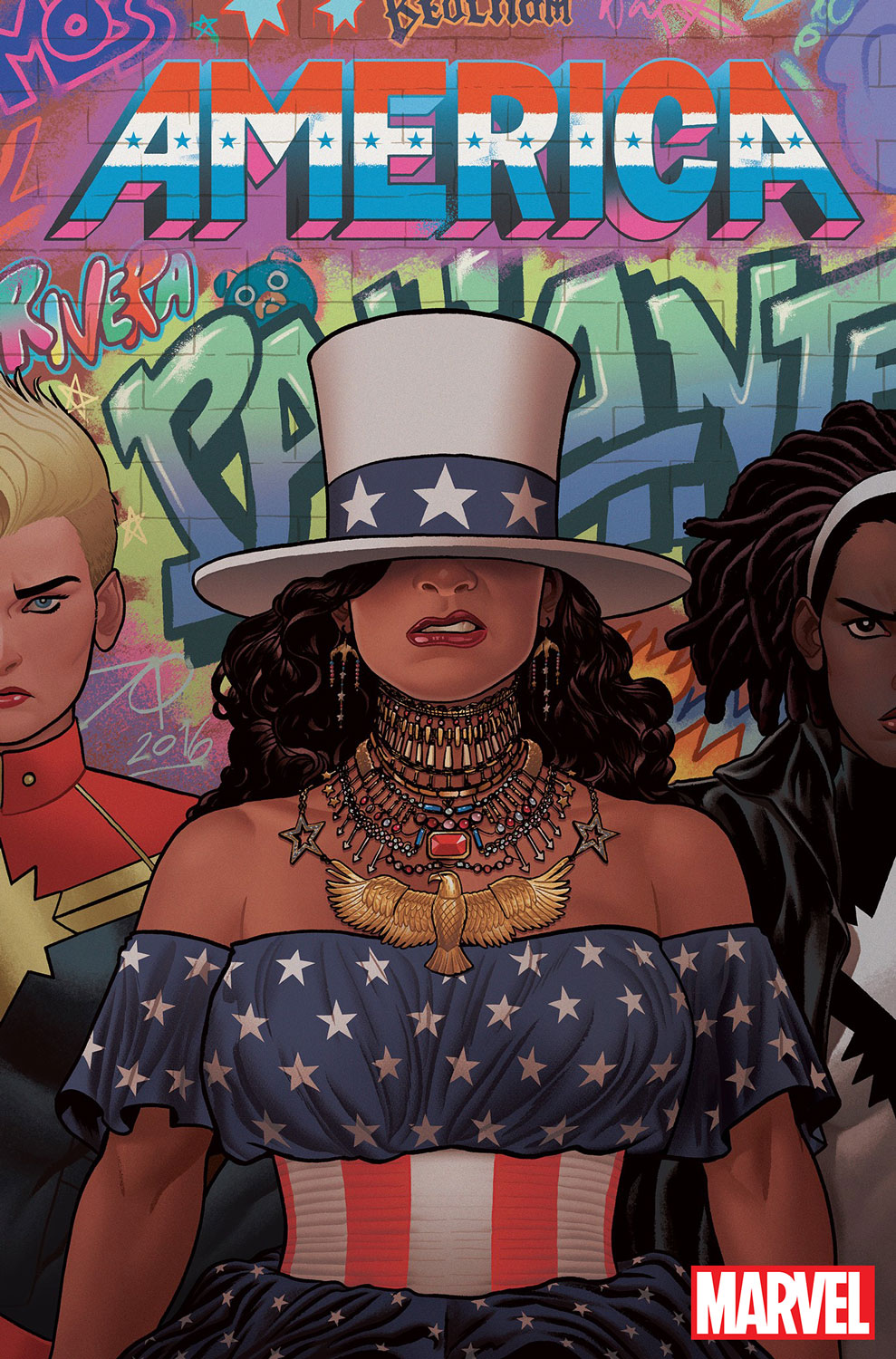 This Marvel comic book cover is a tribute to one of Lemonade's most iconic images.