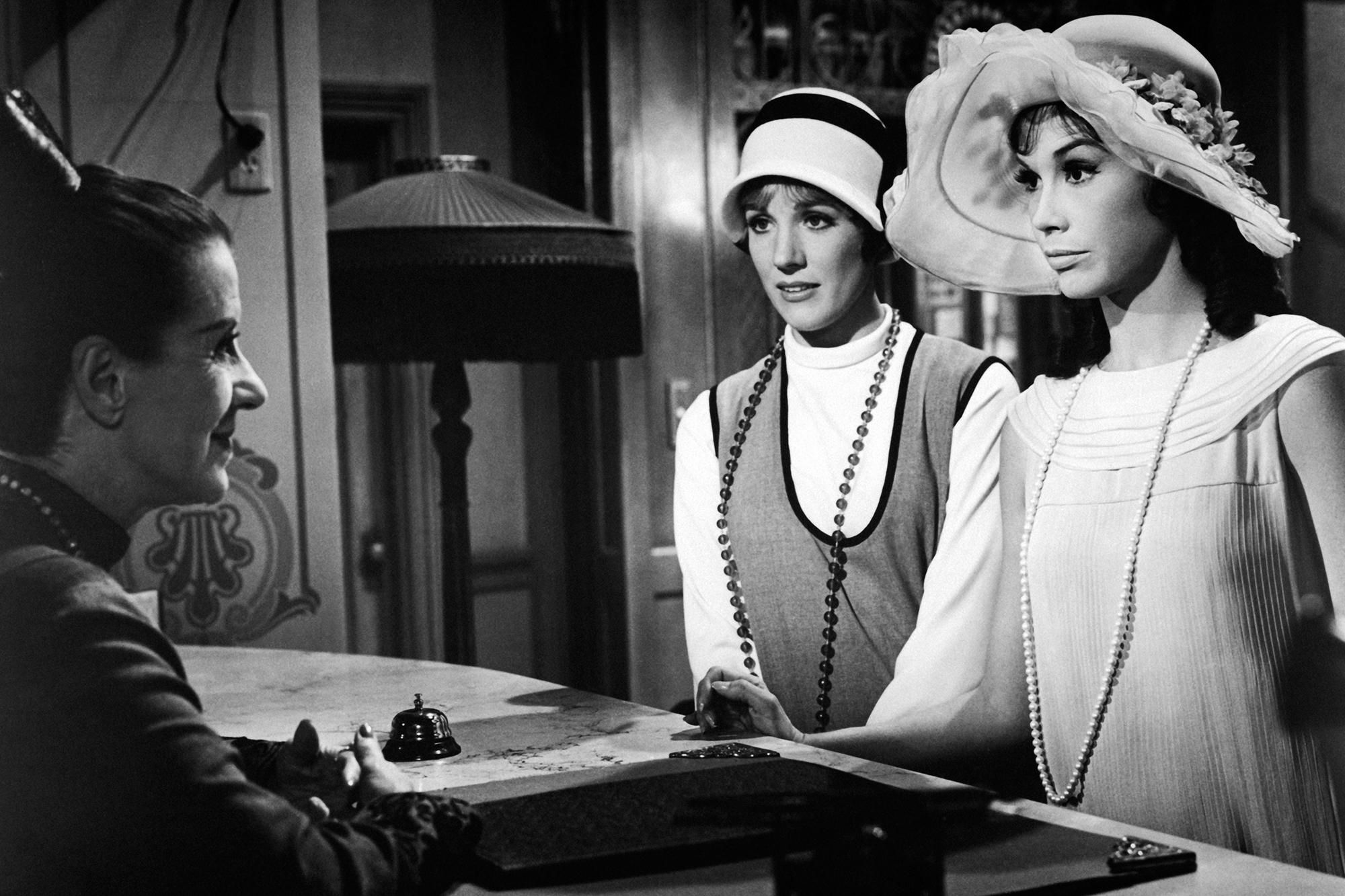 Julie Andrews and Mary Tyler Moore in Thoroughly Modern Millie, 1967.