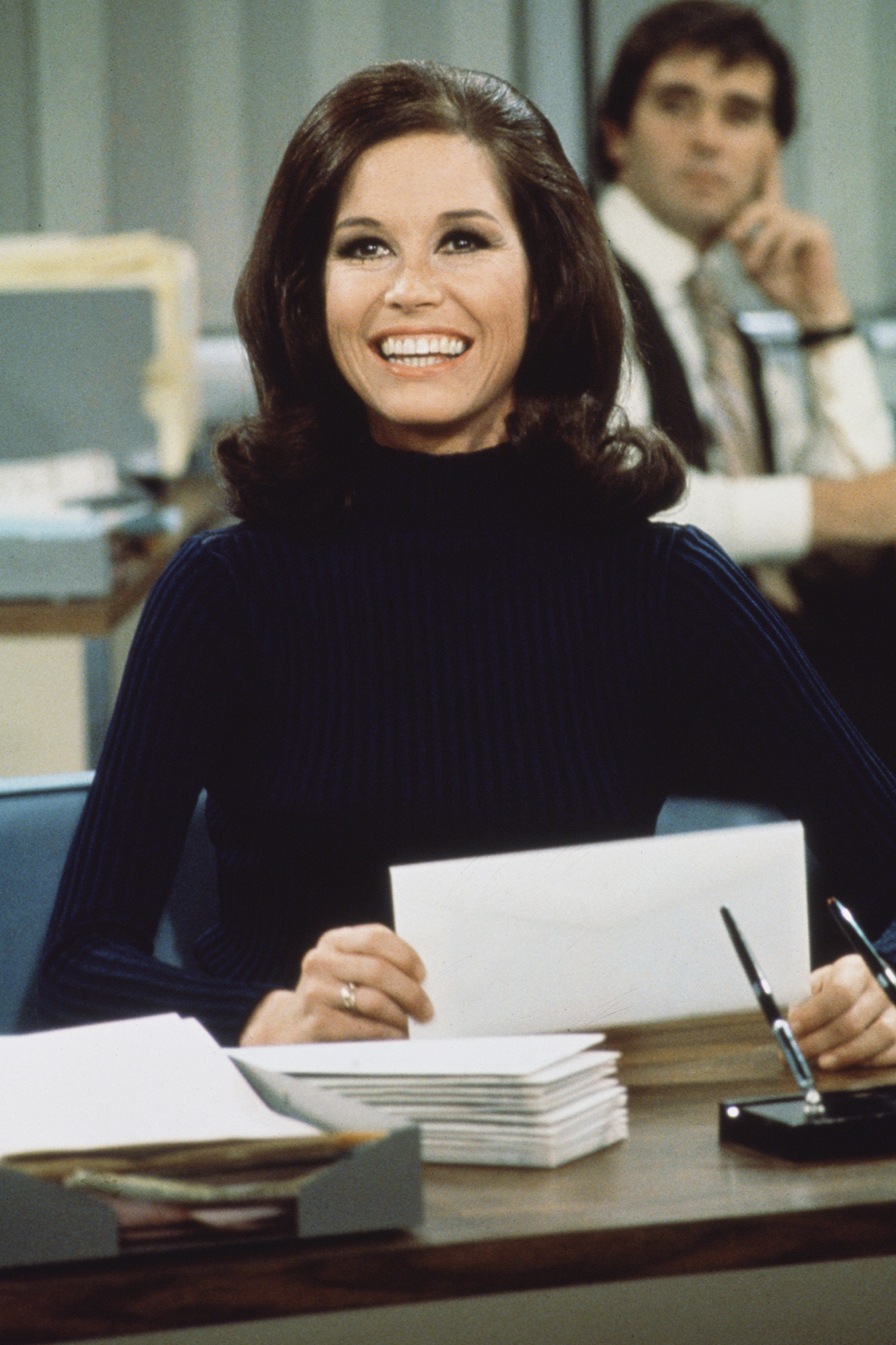 Mary Tyler Moore during The Mary Tyler Moore Show in 1970 in Los Angeles.