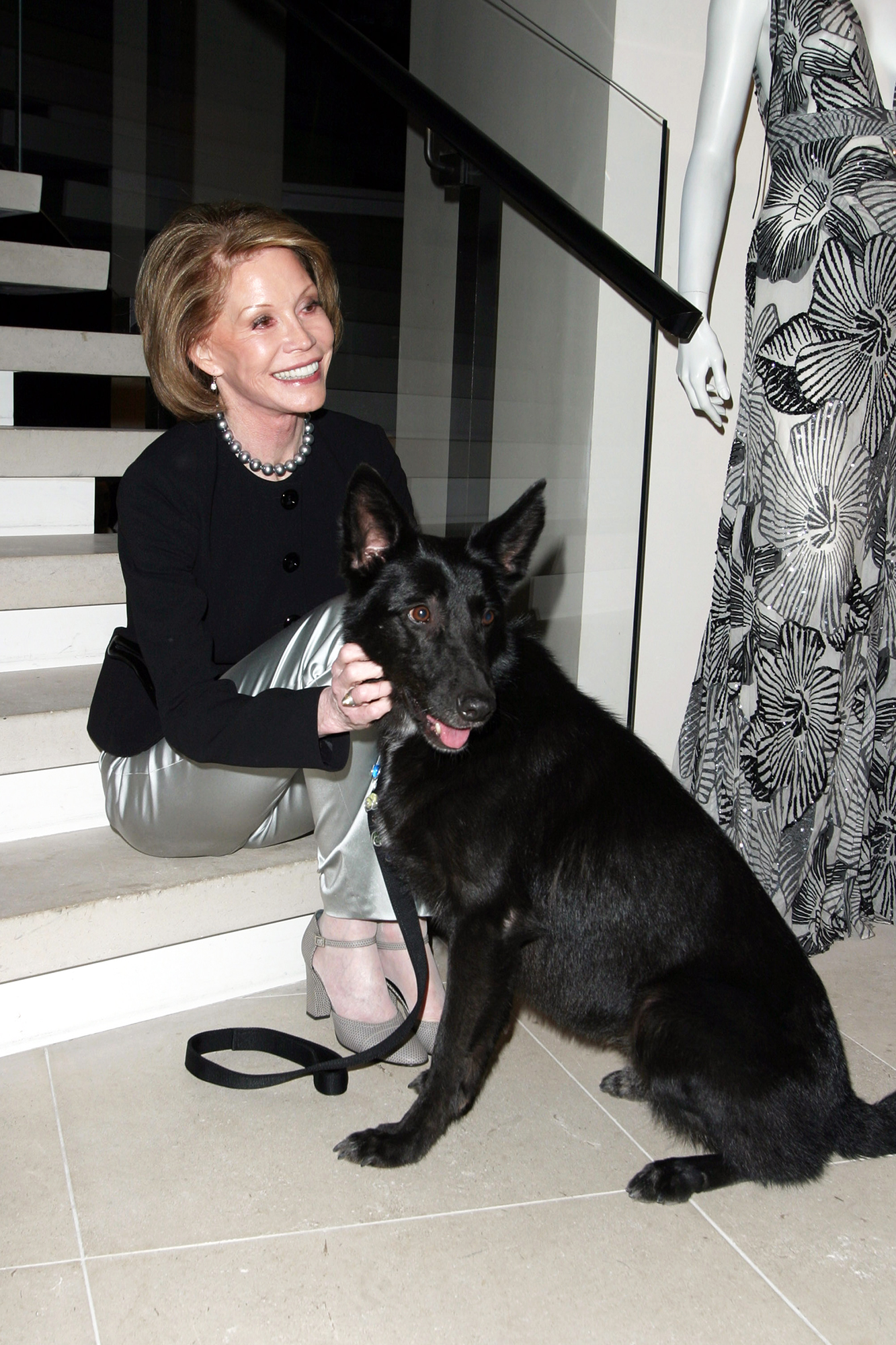 Mary Tyler Moore during the NYC Animal Care & Control Inaugural Benefit, on Nov. 9, 2003 in New York City.