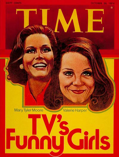 Mary Tyler Moore and Valerie Harper on the Oct. 28, 1974 cover of TIME.