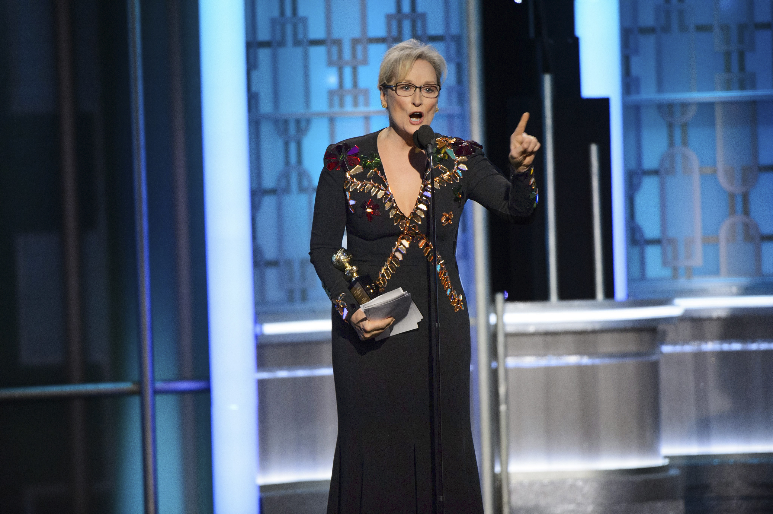 Meryl Streep joined Hollywood's long line of political dissenters at the Jan. 8 Golden Globes