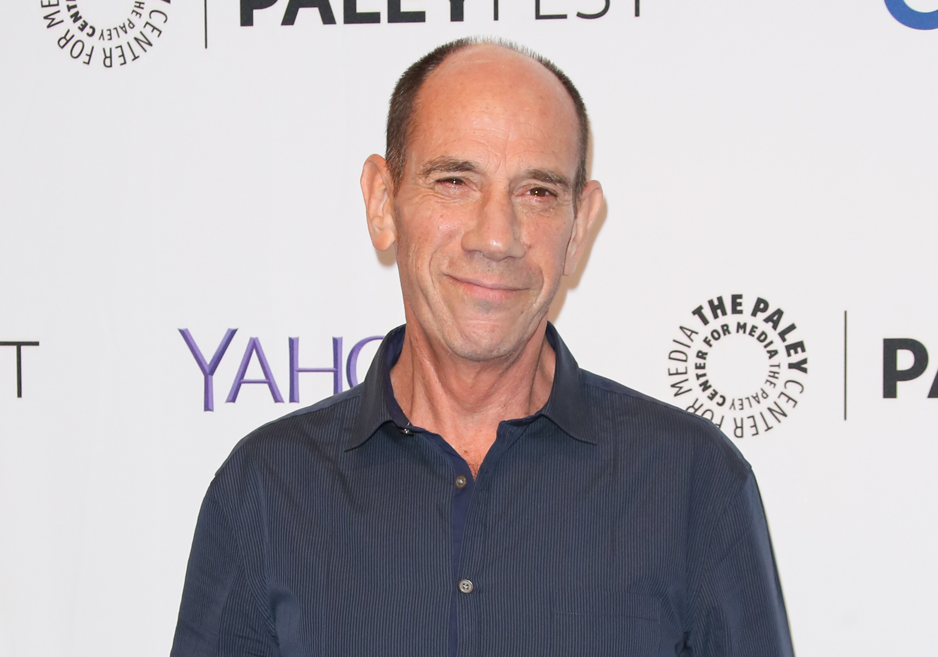 Actor Miguel Ferrer attends the PaleyFest 2015 fall TV preview of  NCIS: Los Angeles  at The Paley Center for Media on September 11, 2015 in Beverly Hills, California.