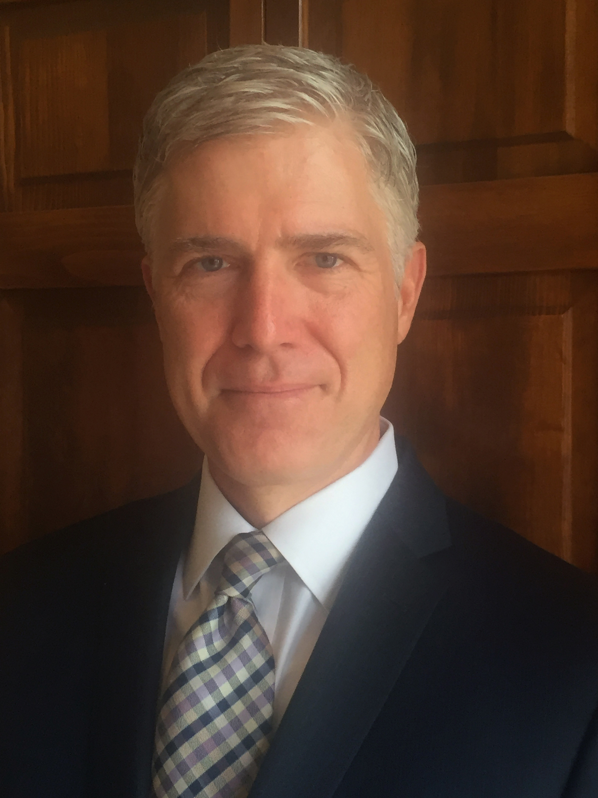 Judge Neil Gorsuch, in an undated photo provided by the 10th U.S. Circuit Court of Appeals.