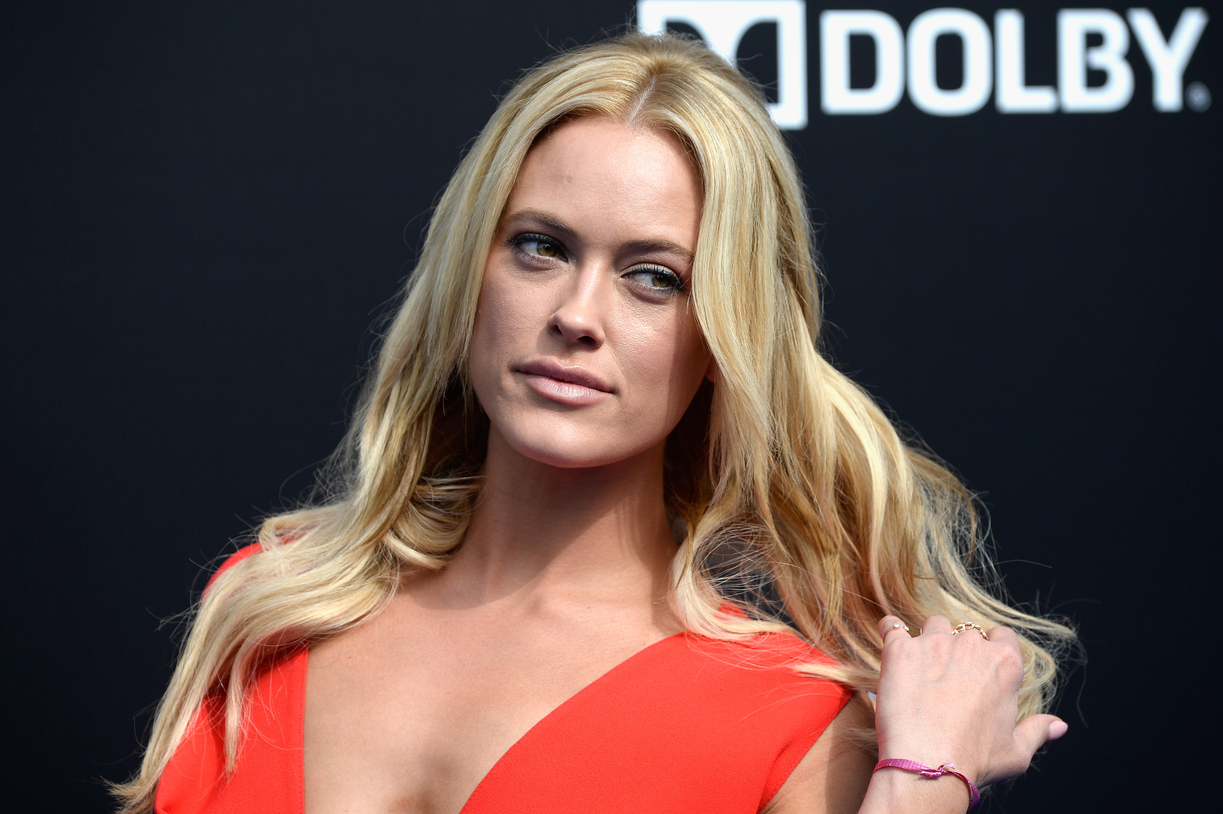 ANAHEIM, CA - MAY 09:  Actress Peta Murgatroyd attends the Premiere Of Disney's  Tomorrowland  at AMC Downtown Disney 12 Theater on May 9, 2015 in Anaheim, California.  (Photo by Frazer Harrison/Getty Images)