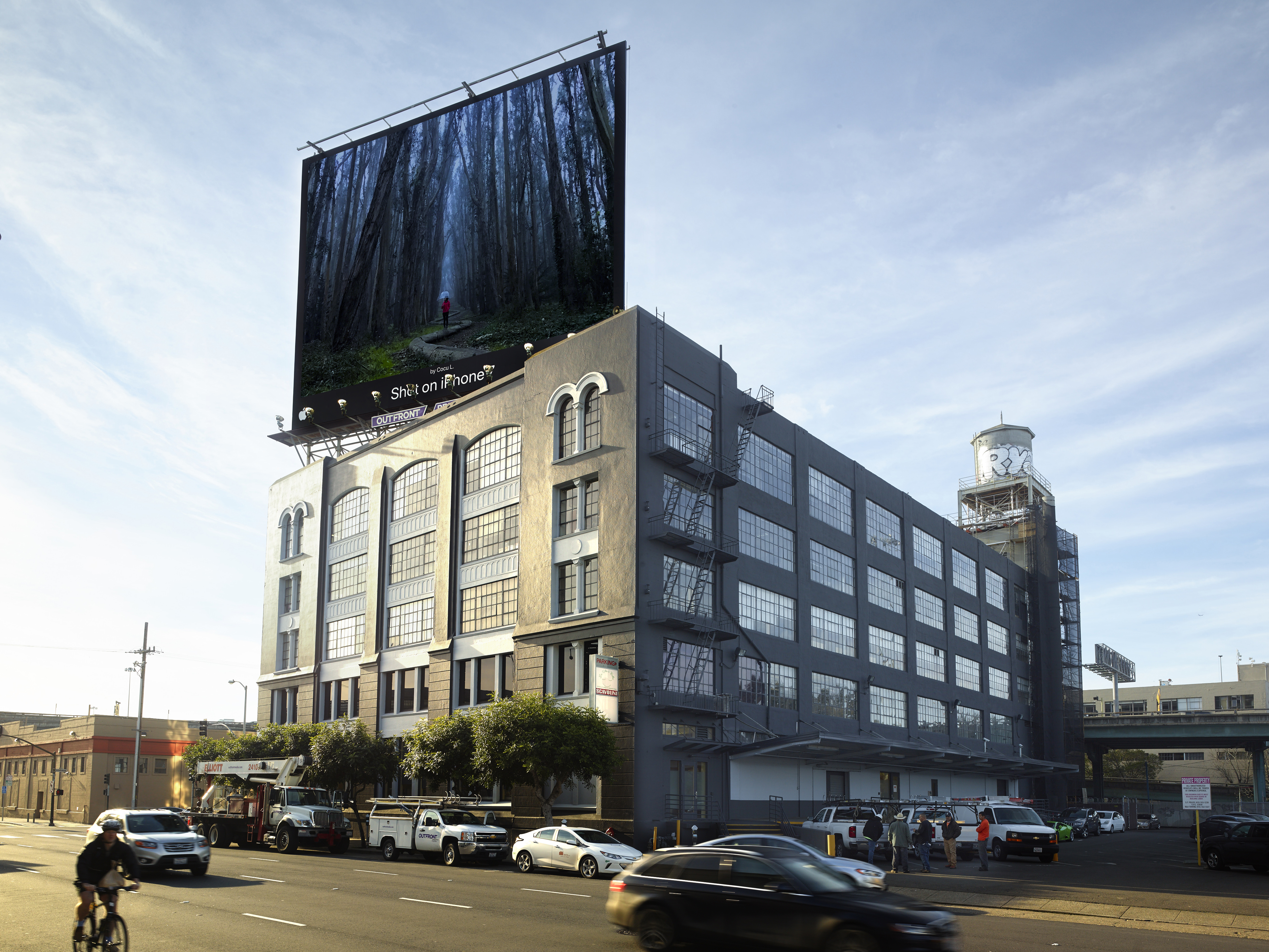 Apple billboard in San Francisco