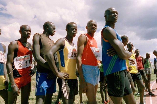 KENYA. 2016. Iten. Runners preparing for the Olympic Games.