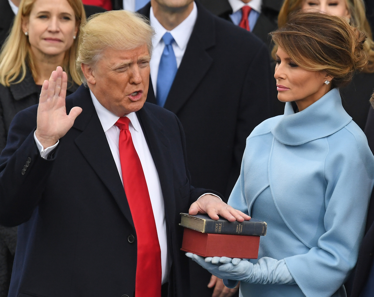 US-POLITICS-INAUGURATION-SWEARING IN-TRUMP