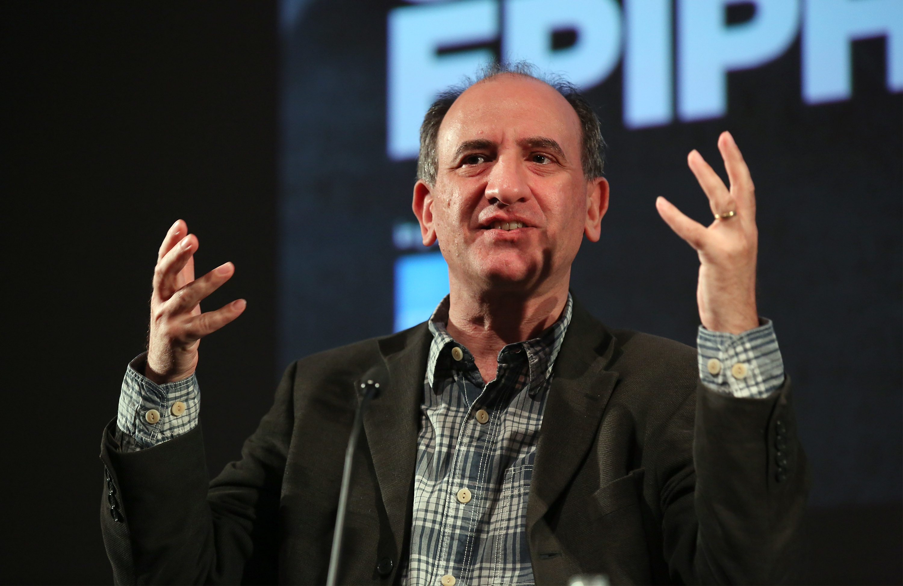 Armando Iannucci introducing the film that inspired him as part of the BFI Screen Epiphanies series in partnership with American Express at BFI Southbank on March 18, 2015 in London.