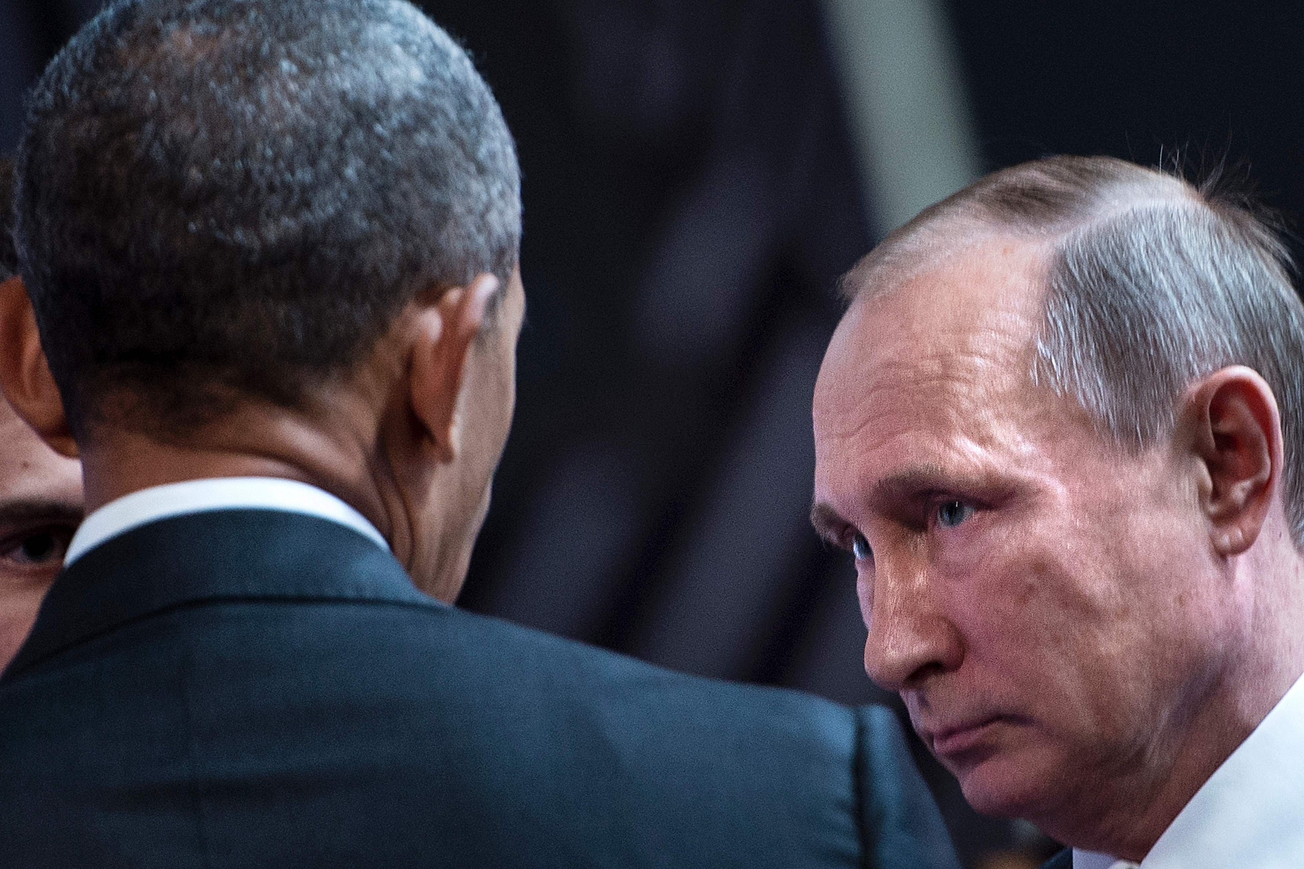 Vladimir Putin and Barack Obama meet in late November at a summit in Lima, Peru.