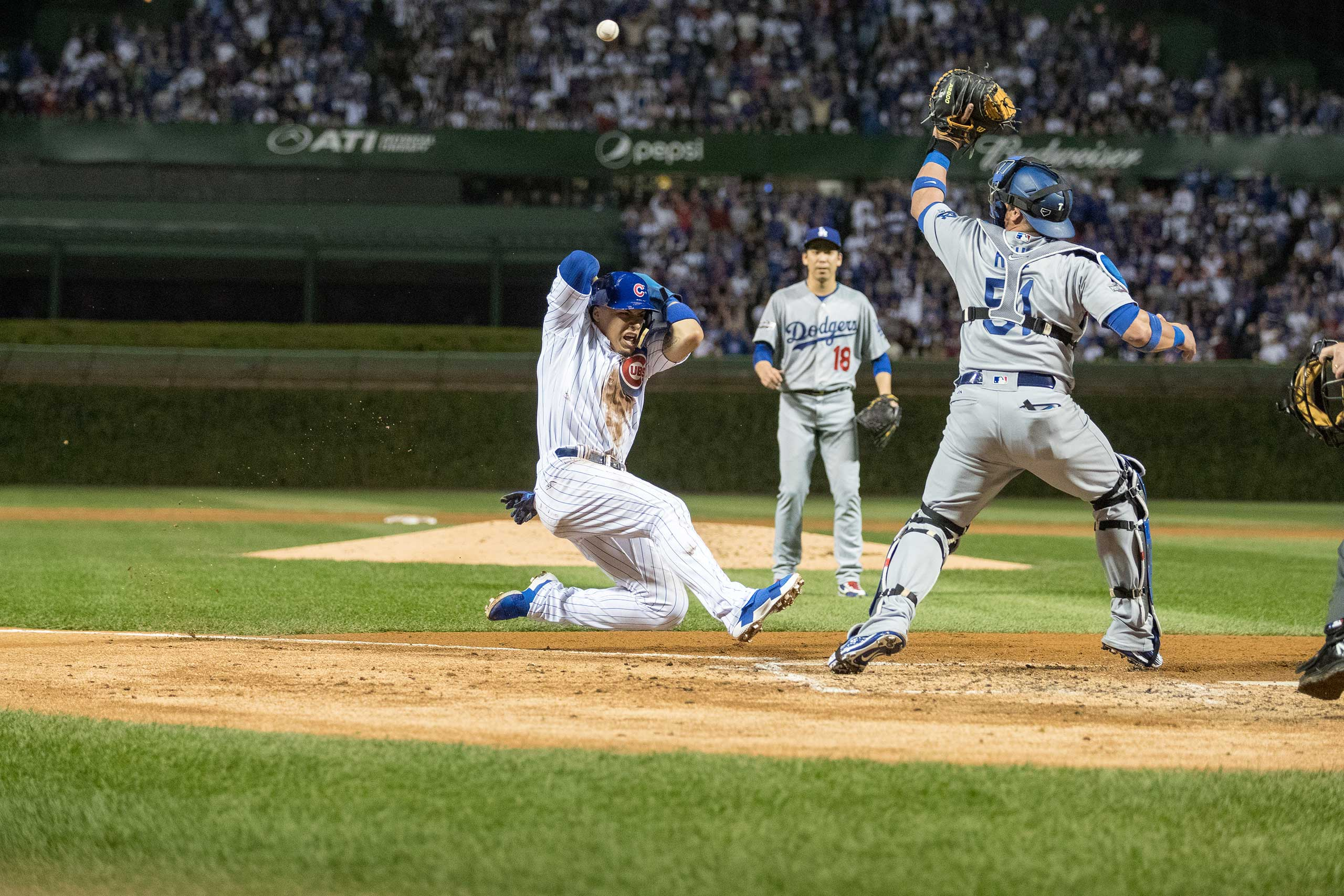 Game 1 of the National League Championship Series against the Los Angeles Dodgers, Oct. 15, 2016.