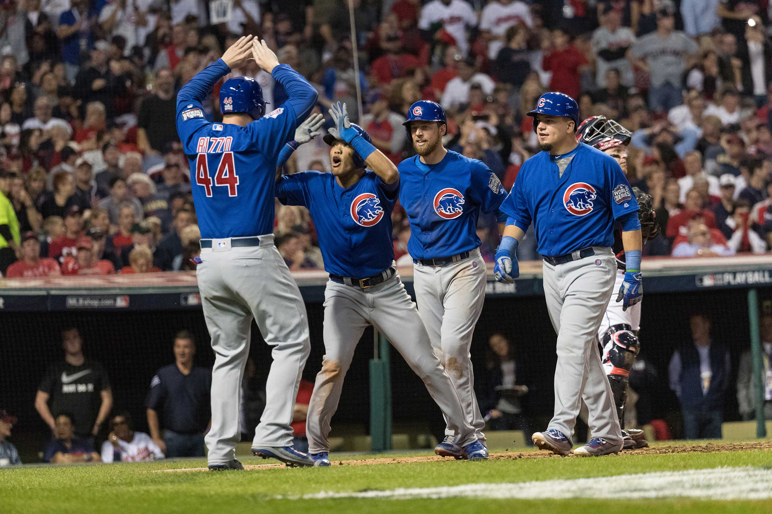 Game 6 of the World Series, Nov. 1, 2016.