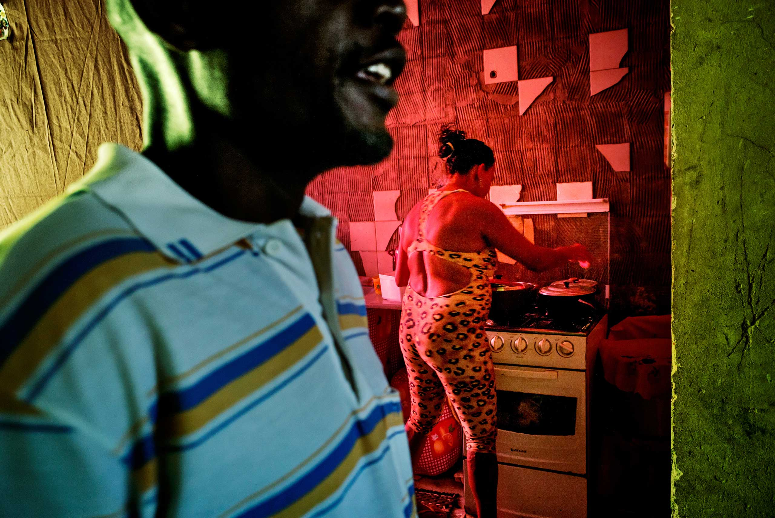 Domingo, from Angola, came several years ago to Brazil in search for a better life.
