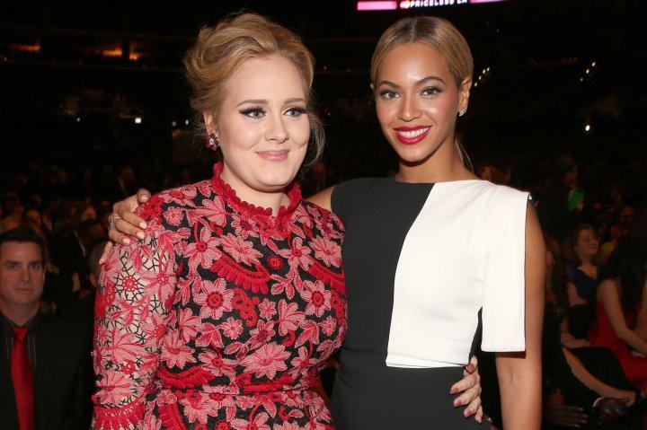 Adele, Beyonce at Grammys