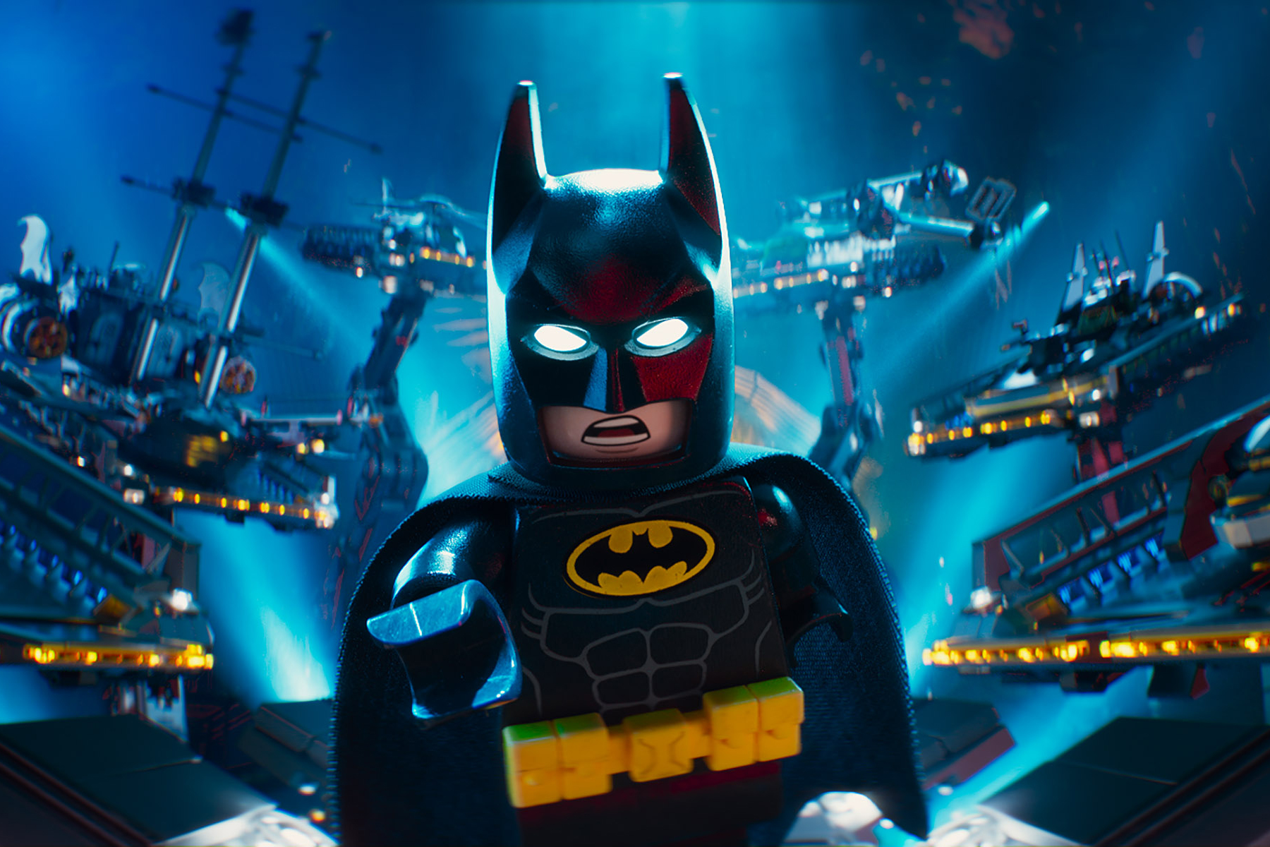 Will Arnett voices Bruce Wayne/Batman in <i>The Lego Batman Movie</i>, a 3D-animated take on the DC superhero and a spin-off of 2014's <i>The Lego Movie</i>.