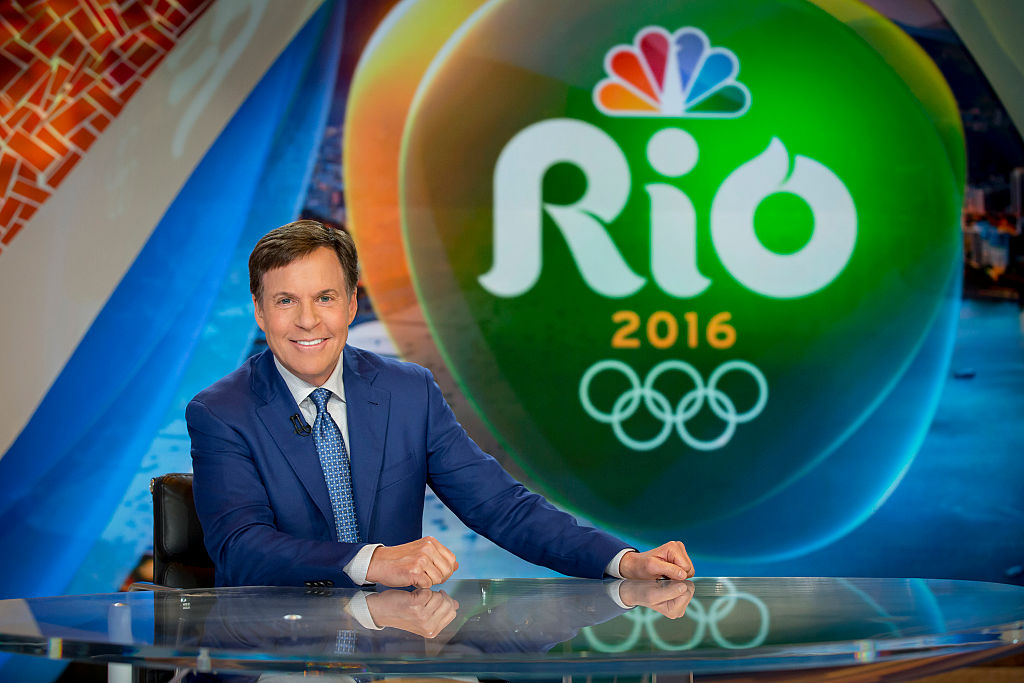 Bob Costas has been hosting the Olympics for NBC since 1992.