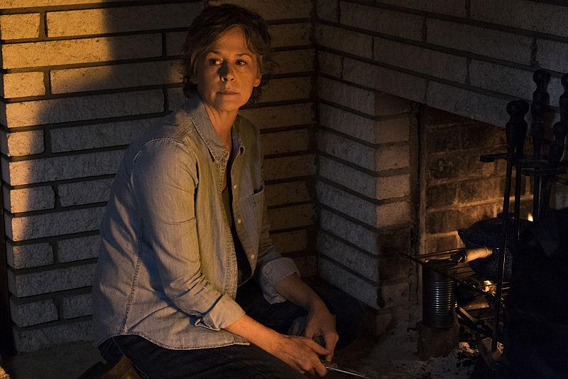 Melissa McBride as Carol Peletier - The Walking Dead Season 7, Episode 10
