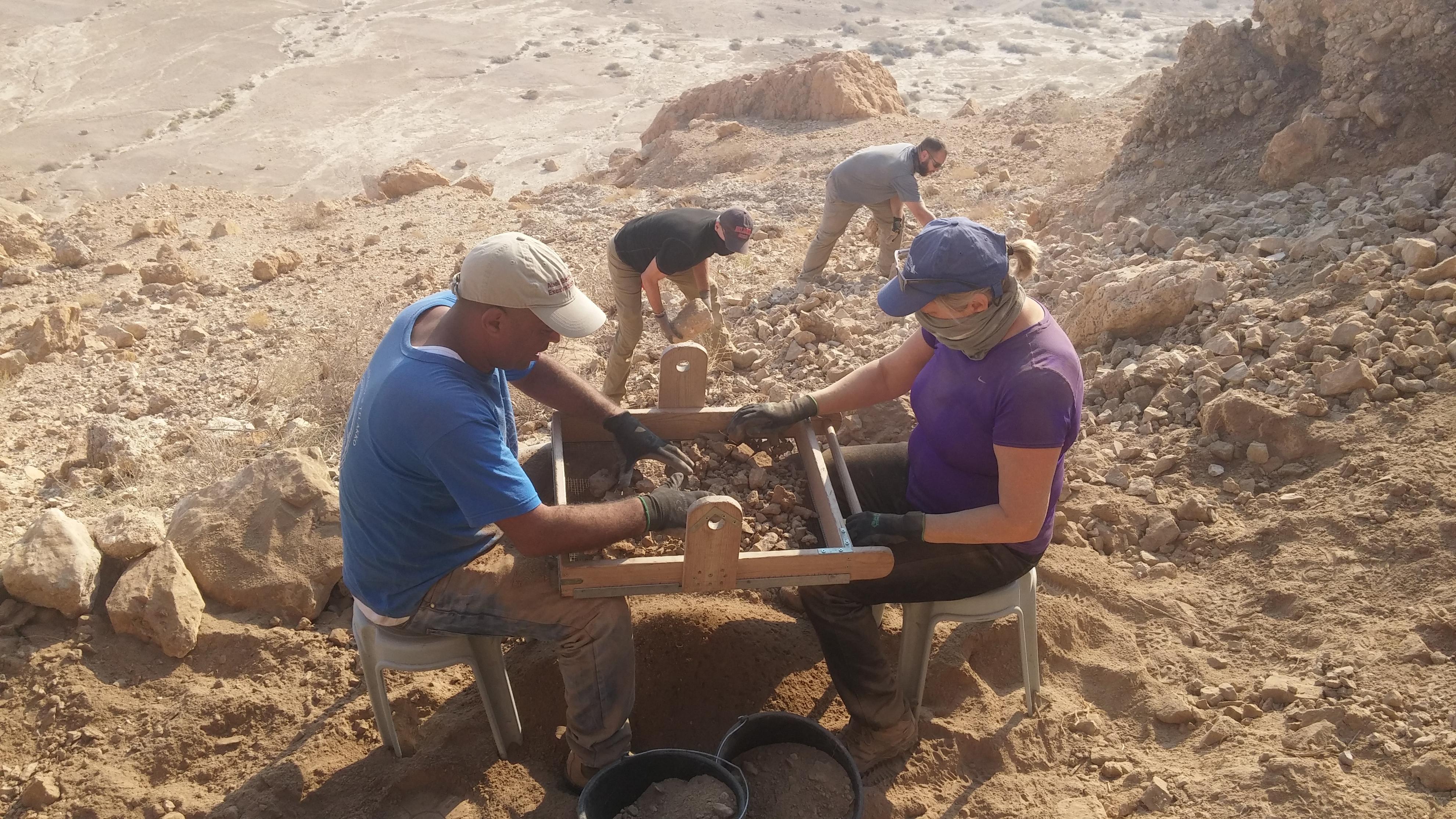 Hebrew University archaeologists