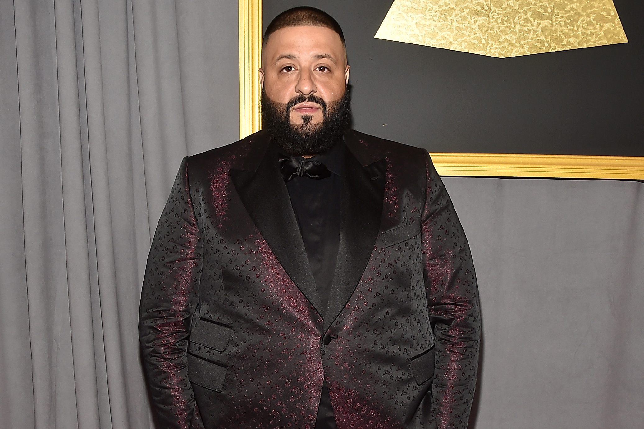 DJ Khaled attends the 59th GRAMMY Awards at STAPLES Center, on Feb. 12, 2017 in Los Angeles.