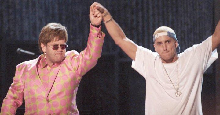 Eminem and Sir Elton John