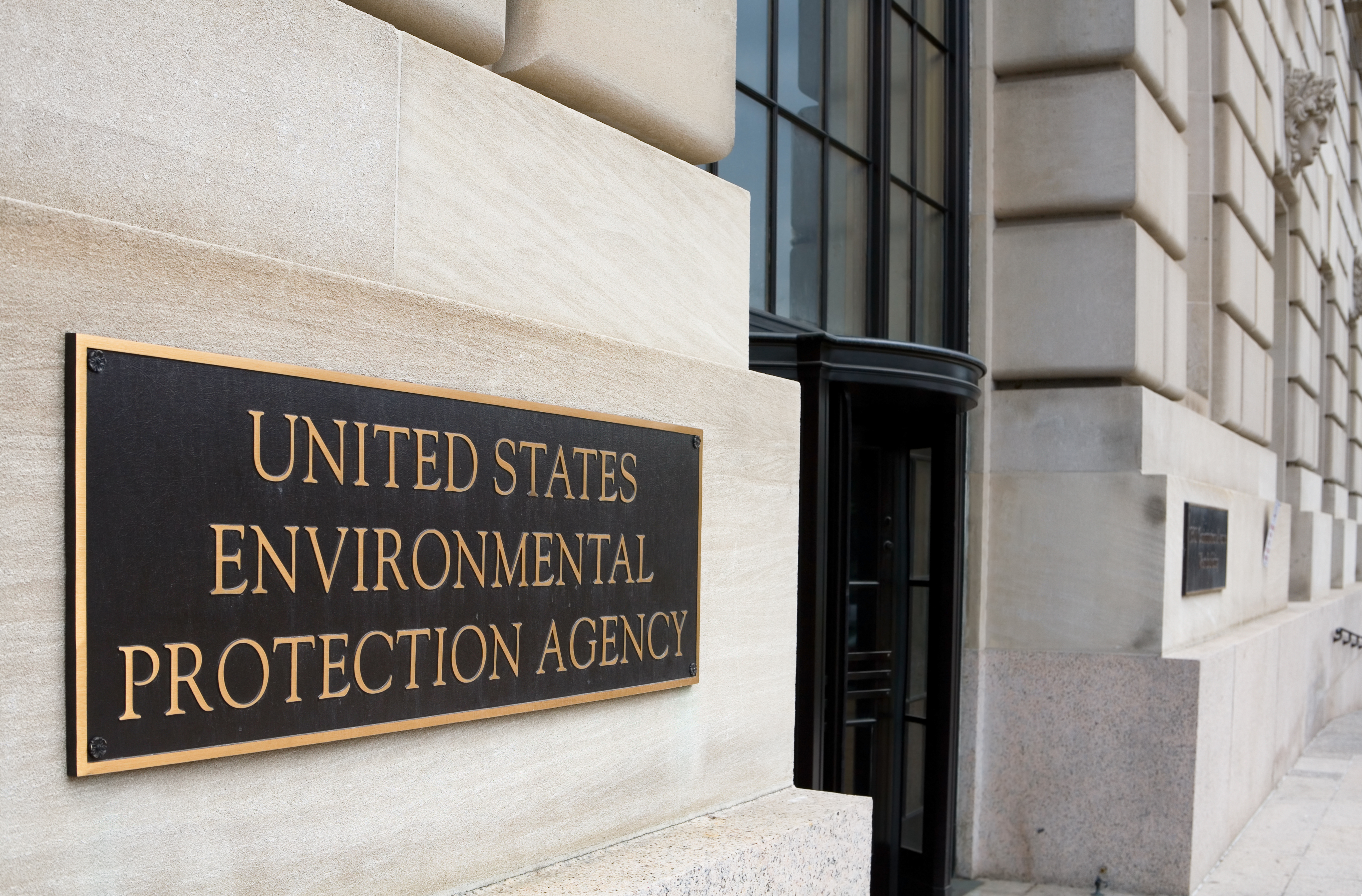 Environmental Protection Agency Headquarters Building in Washington DC