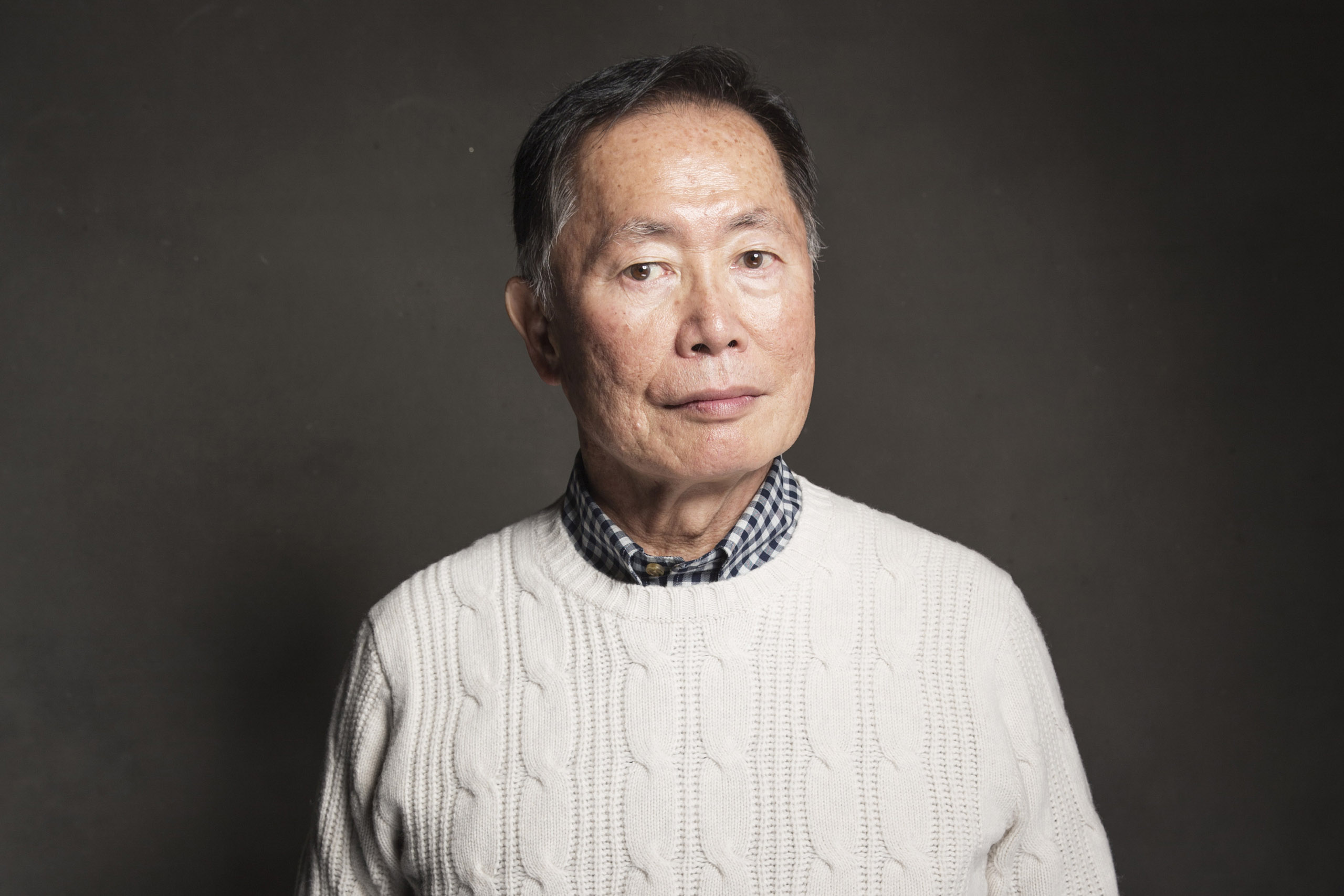 George Takei poses for a portrait during the Sundance Film Festival in Utah on Jan. 18, 2014.