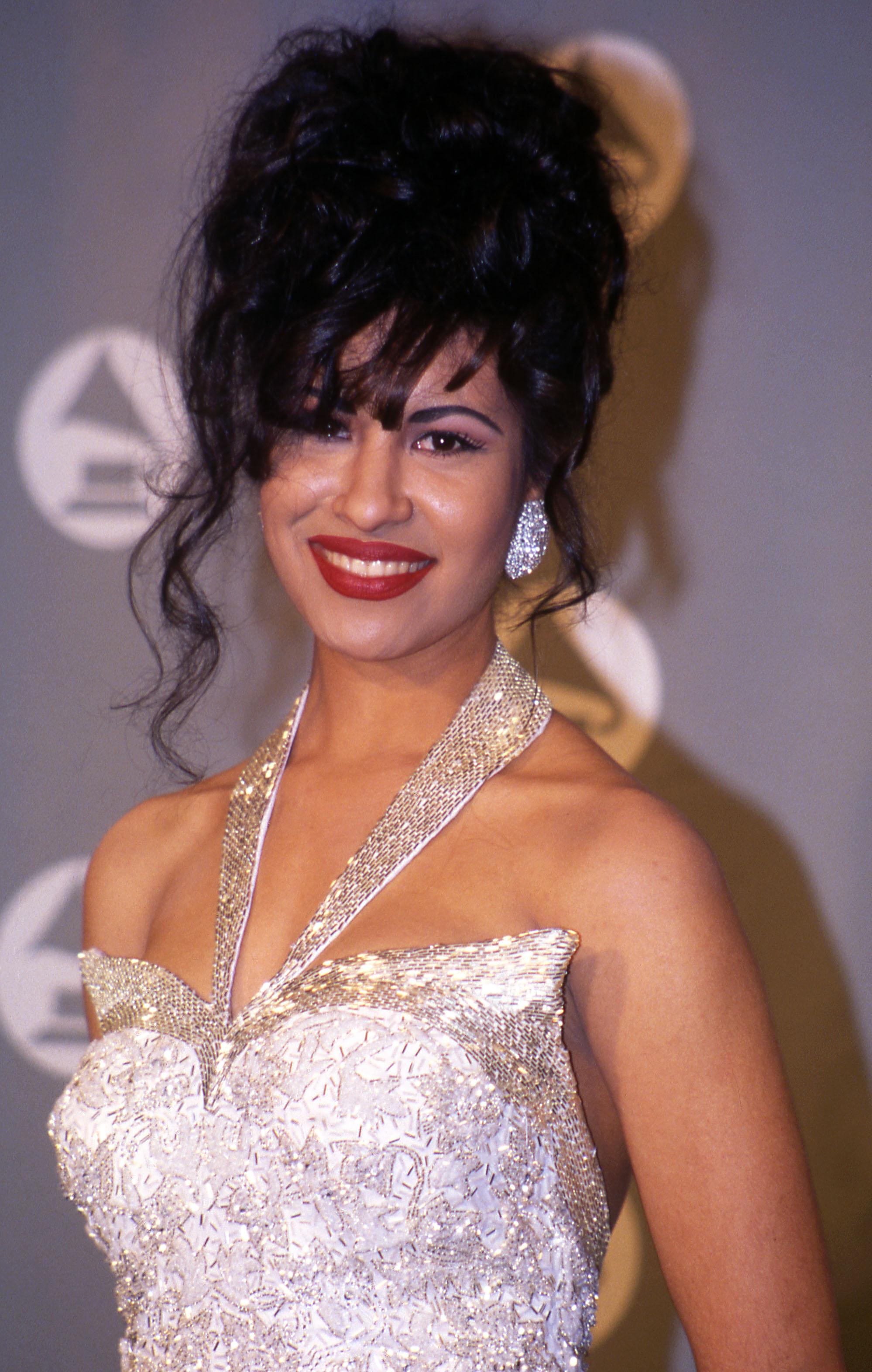 Selena at the 1994 Grammy Awards in New York City.