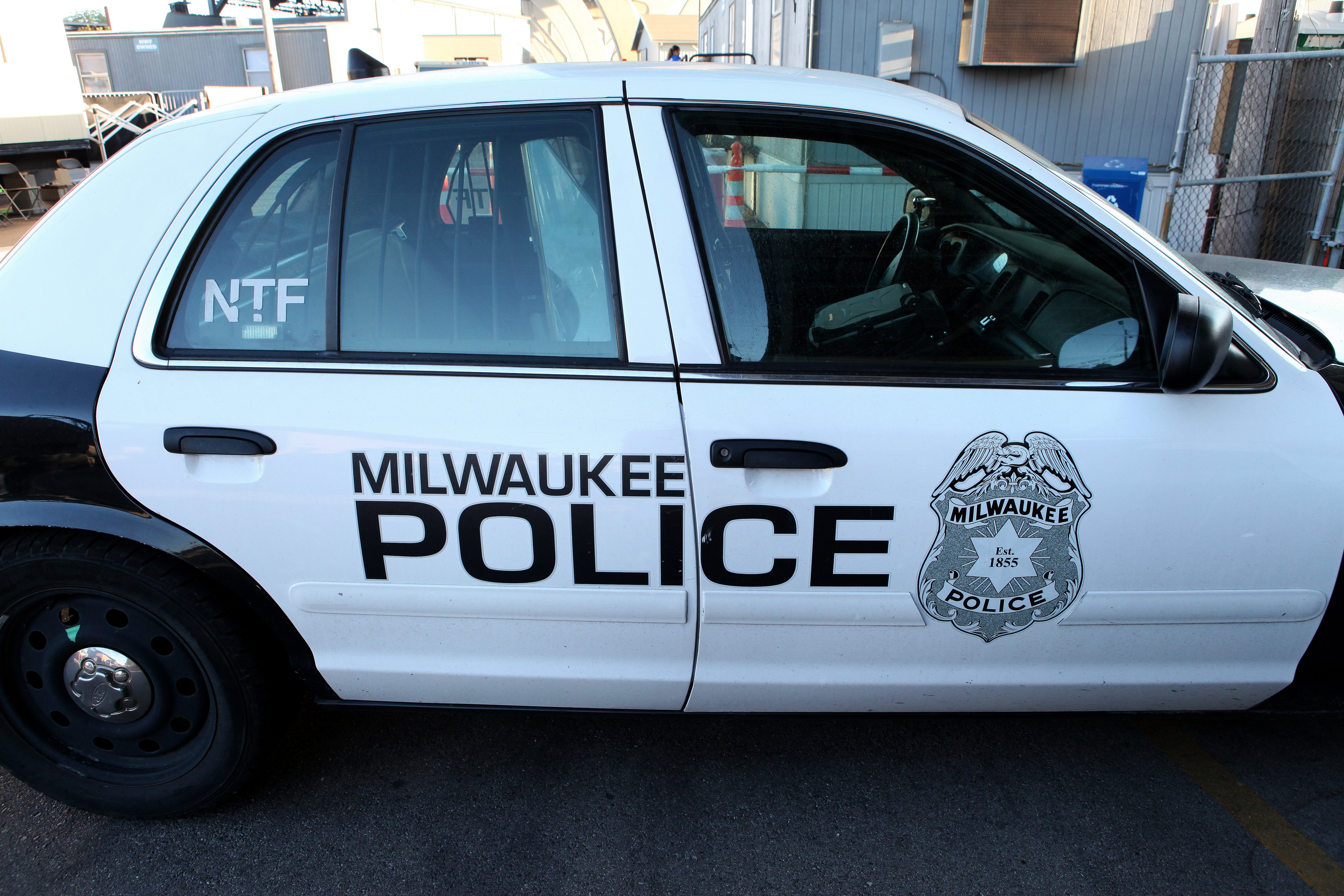 A Milwaukee Police Car on Aug. 30, 2013.