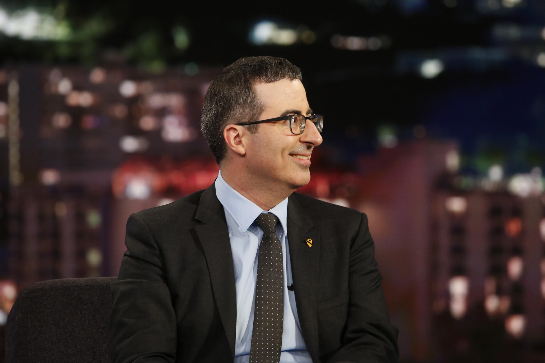 John Oliver on Jimmy Kimmel Live on Sept. 19, 2016.