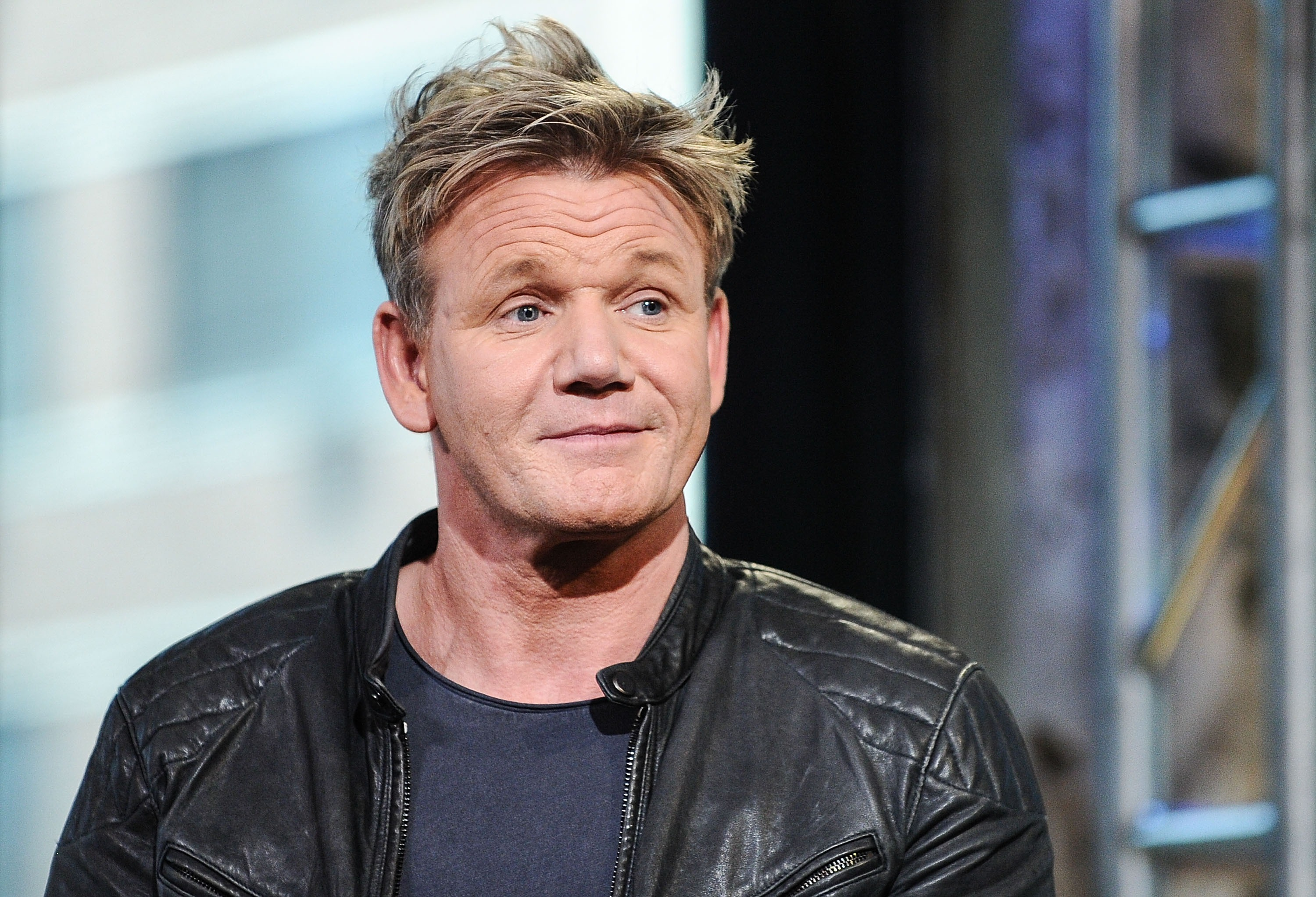 NEW YORK, NY - JUNE 22:  Chef Gordon Ramsay attends AOL Build to discuss his MasterChef Mobile Game at AOL Studios on June 22, 2016 in New York City.