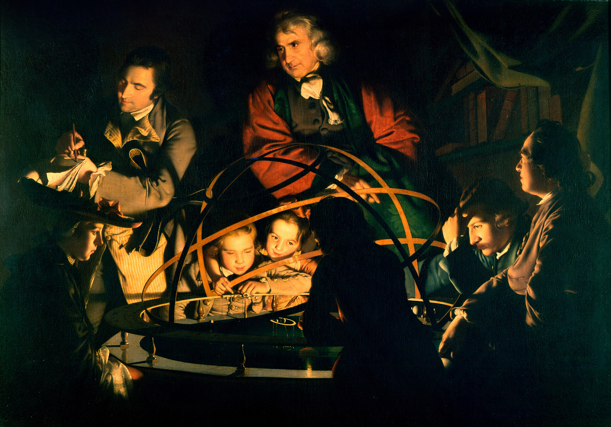 The Enlightenment romanticized the pursuit of scientific knowledge (as depicted in this 1766 Joseph Wright painting of a philosopher giving a lecture), which was disruptive for those accustomed to tradition and religion.