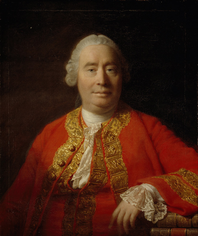 Portrait of David Hume (1711-1776), 1766. Found in the collection of National Gallery of Scotland, Edinburgh. Artist :  Ramsay, Allan (1713-1784).