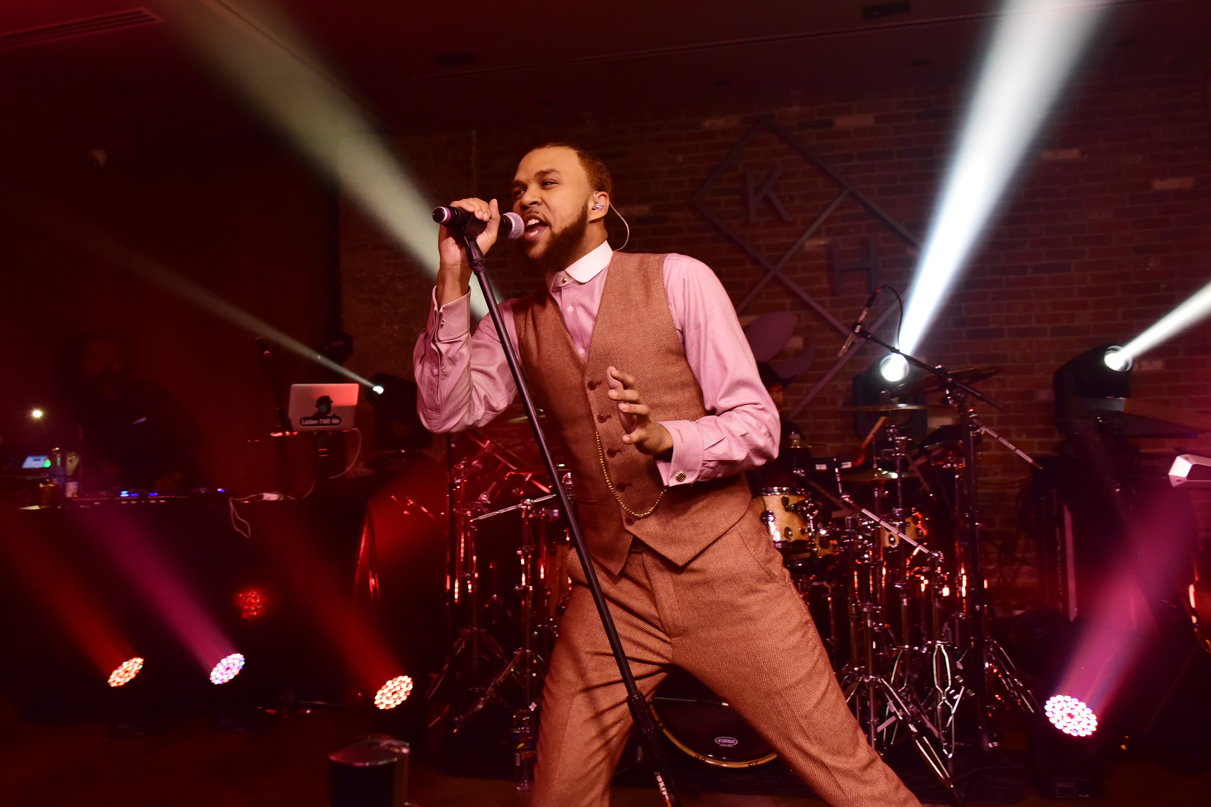 Jidenna performs for Pepsi's The Sound Drop at Kola House on February 16, 2017 in New York City.
