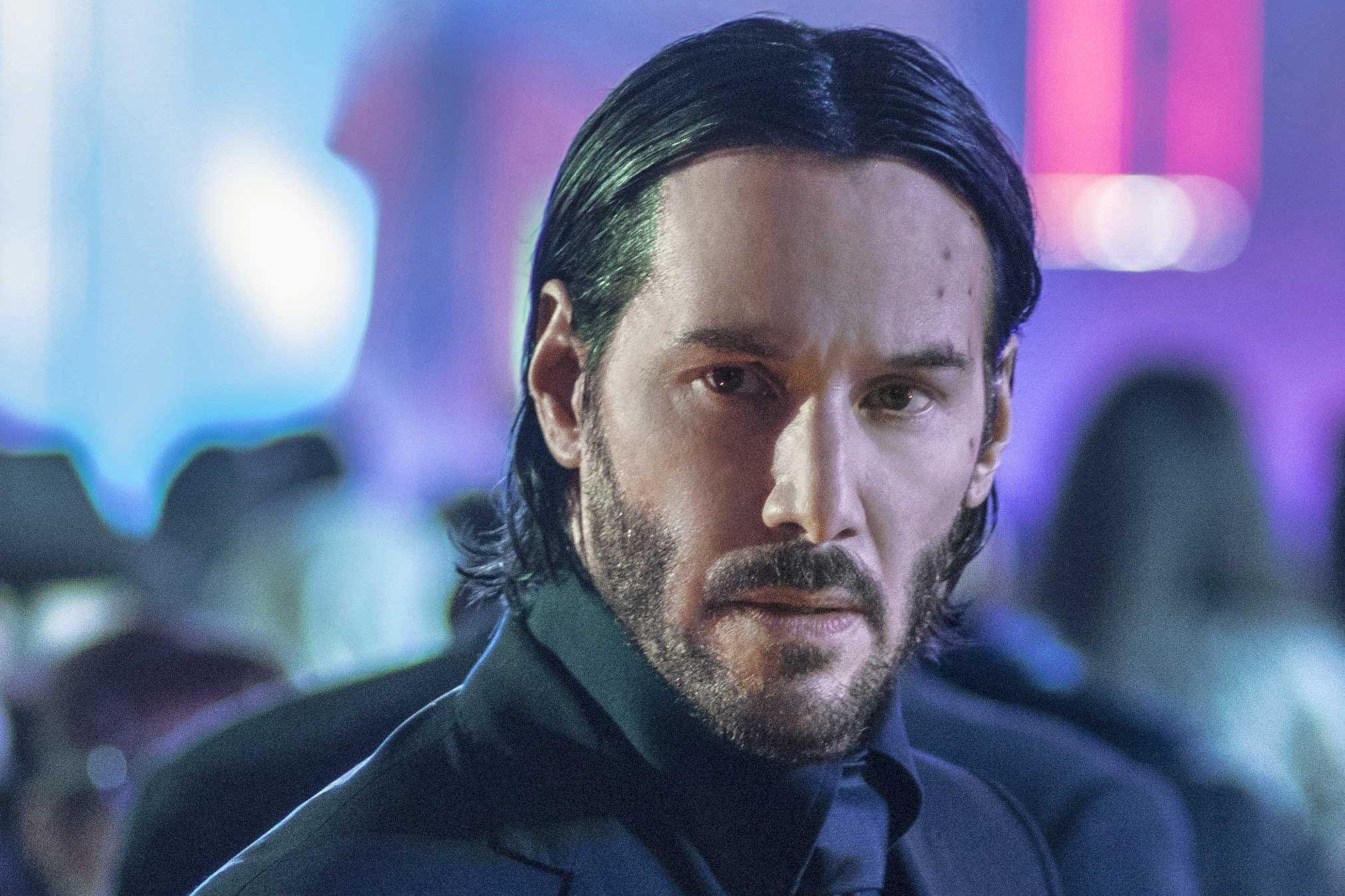In Chapter 2, retired hit man John Wick (Reeves) heads abroad for another round of grisly vengeance