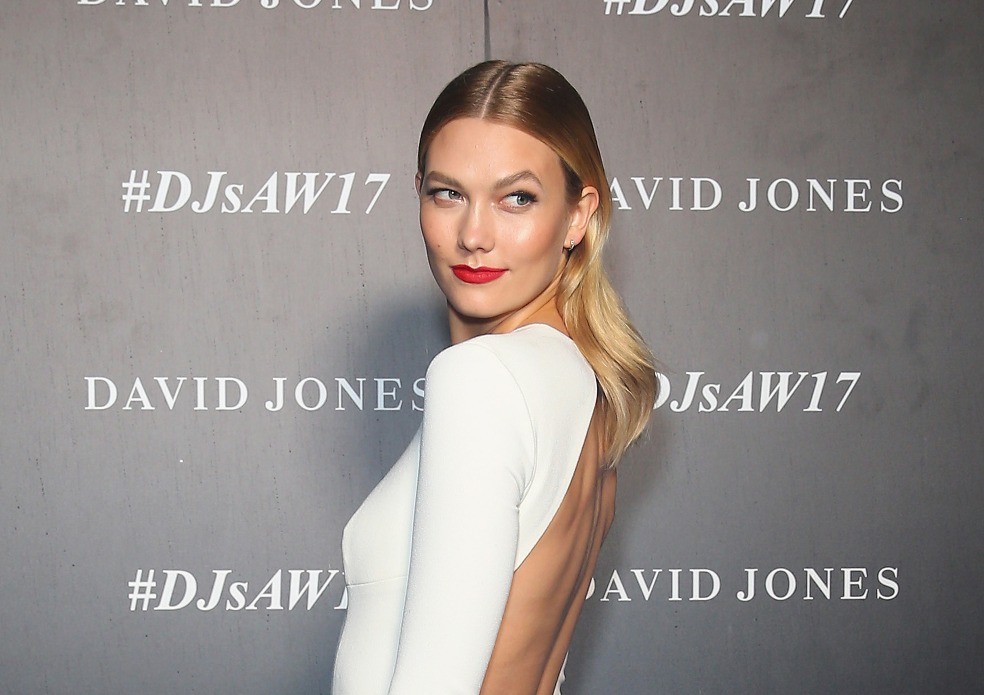 Karlie Kloss arrives ahead of the David Jones Autumn Winter 2017 Collections Launch on February 1, 2017 in Sydney, Australia.