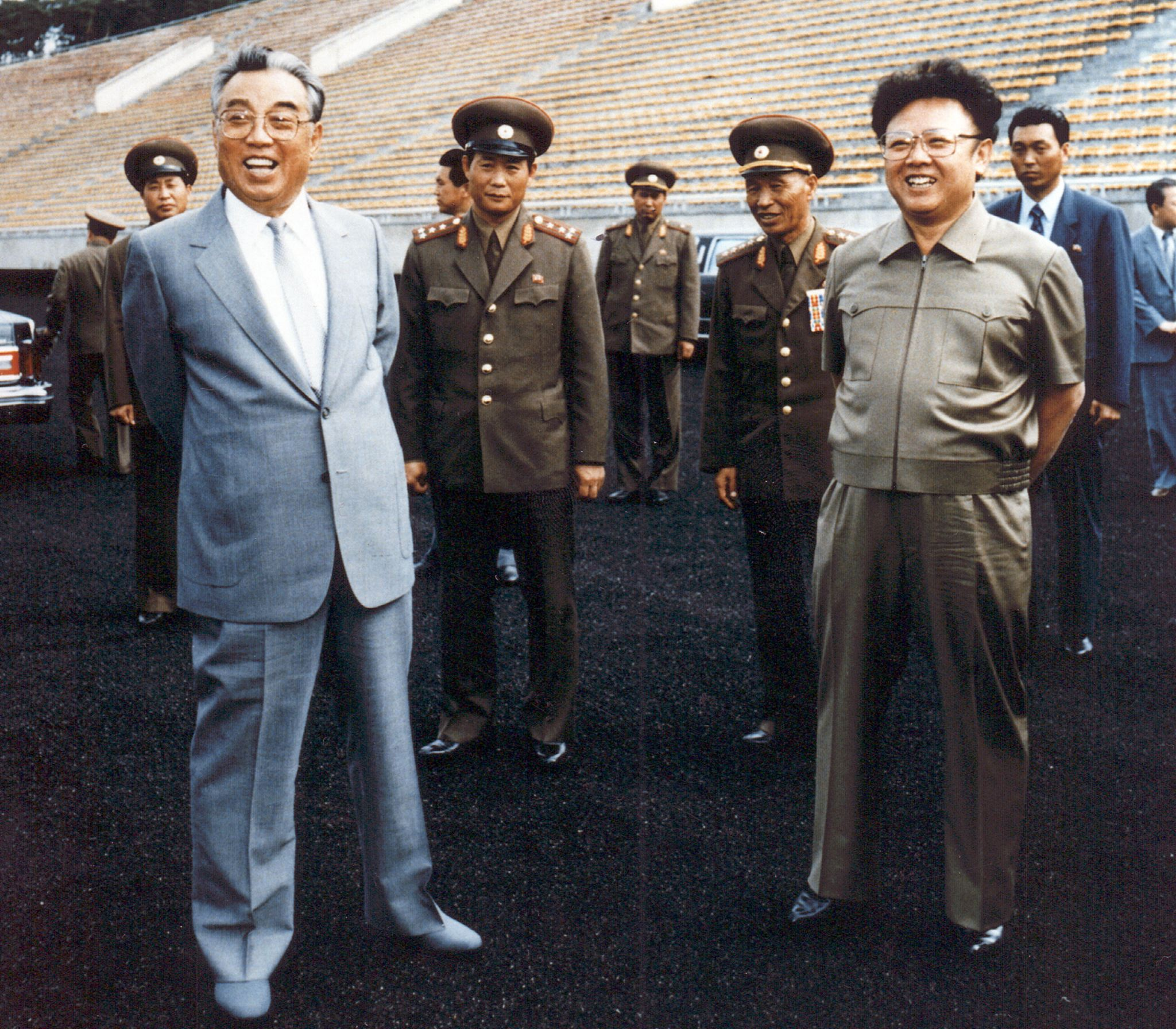 File photo taken in 1992 shows North Korean leader